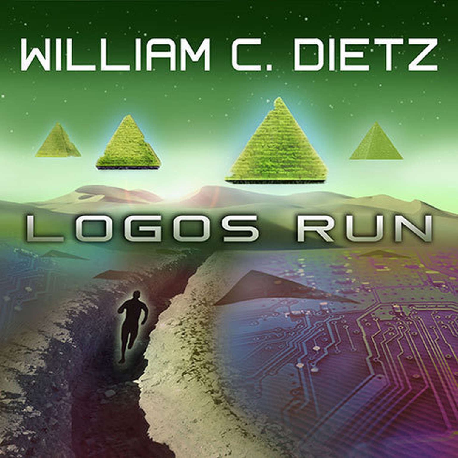 Printable Logos Run Audiobook Cover Art