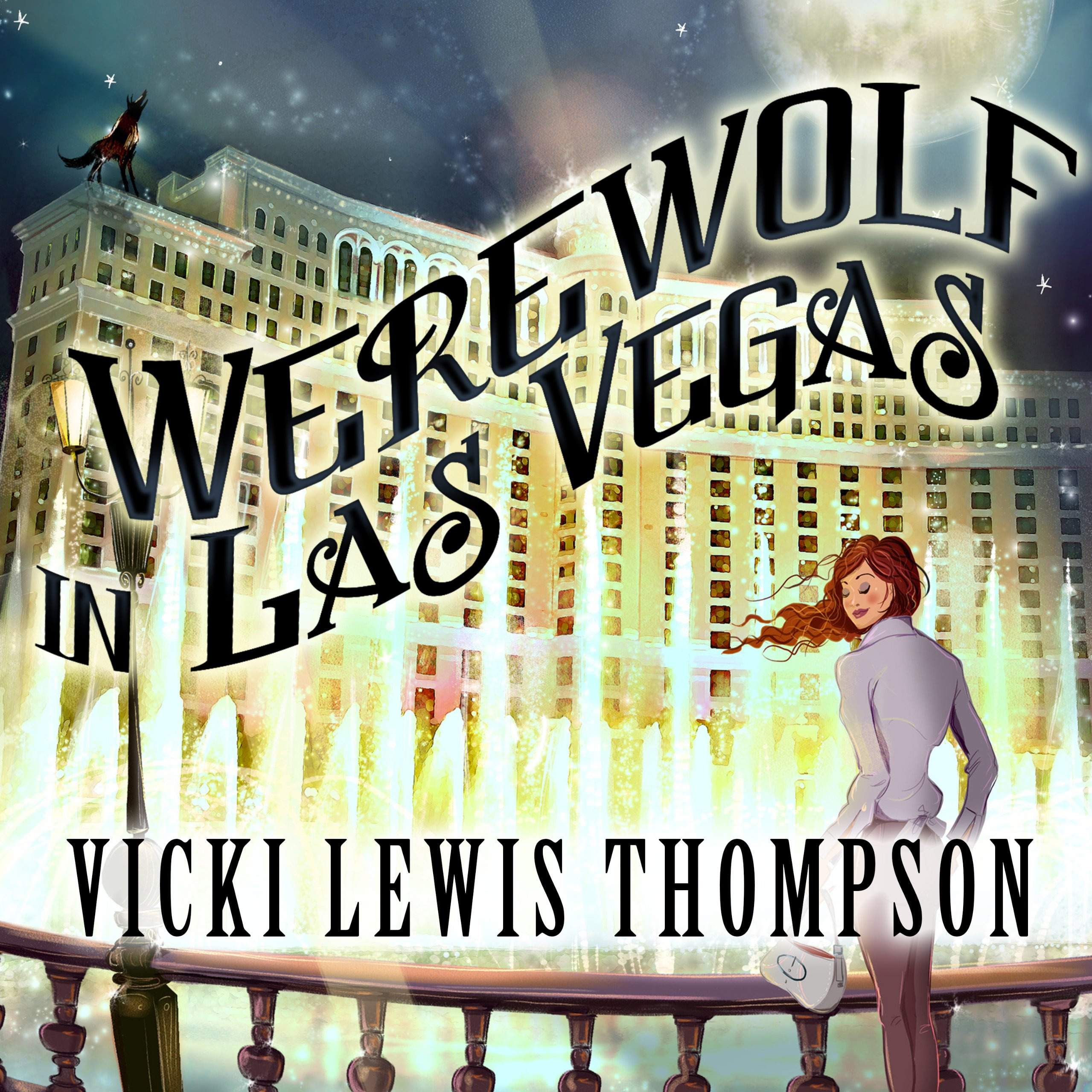 Printable Werewolf in Las Vegas: A Wild about You Novel Audiobook Cover Art
