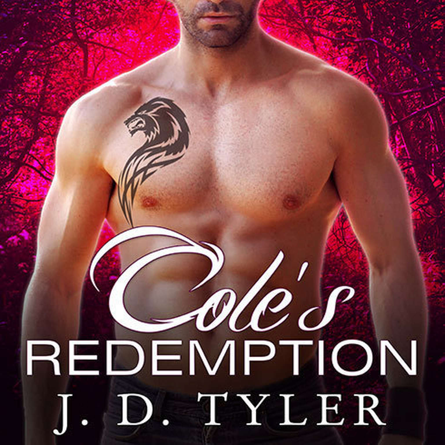 Printable Cole's Redemption Audiobook Cover Art
