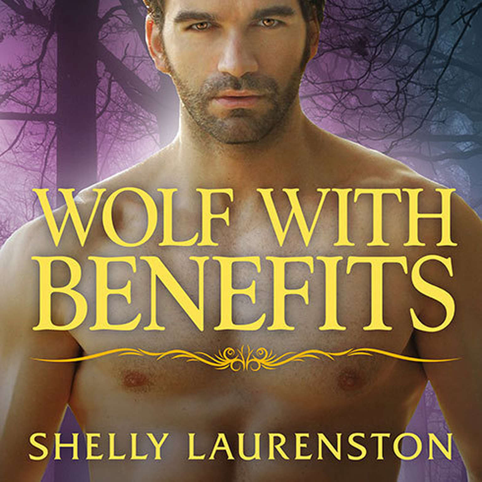 Printable Wolf With Benefits Audiobook Cover Art