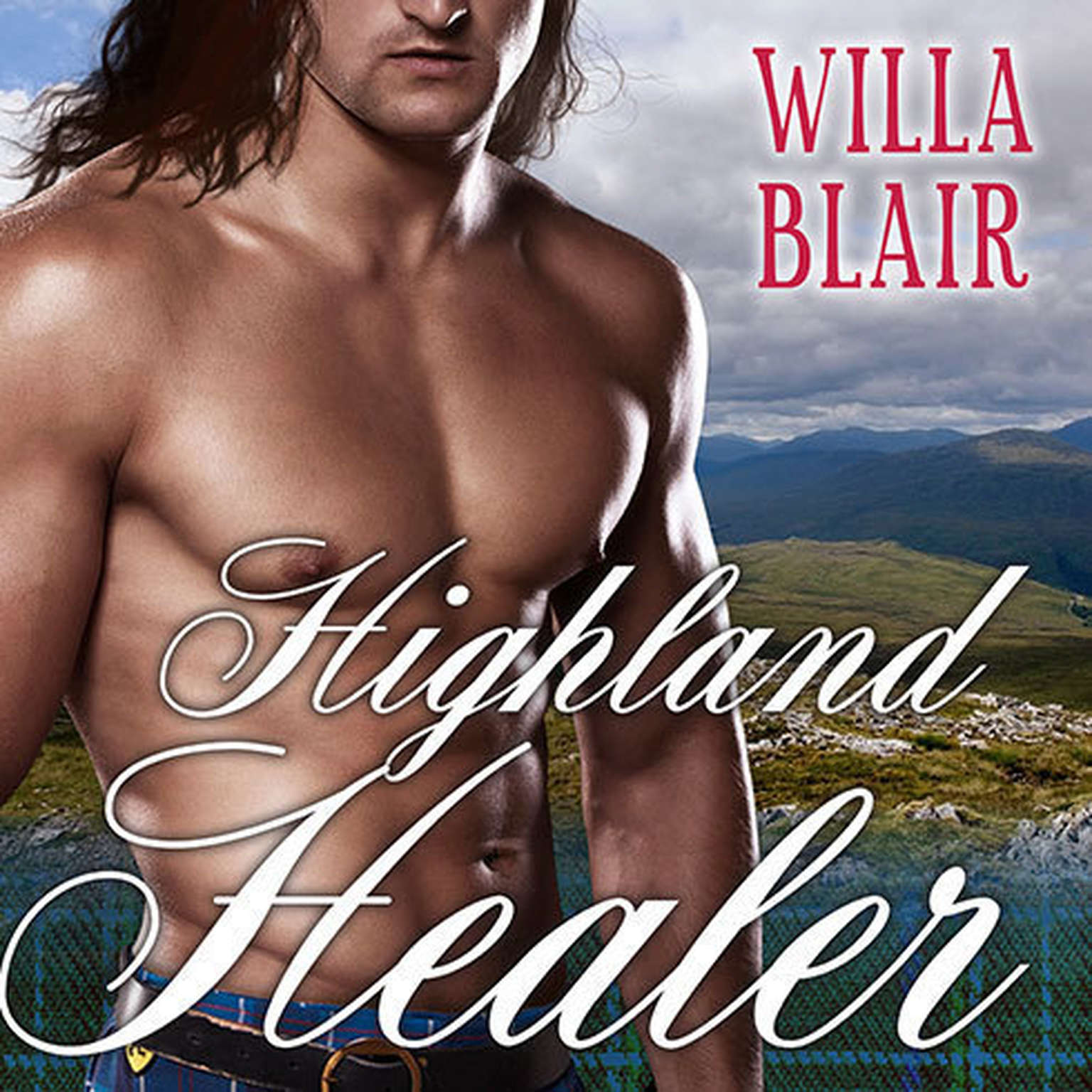 Printable Highland Healer Audiobook Cover Art