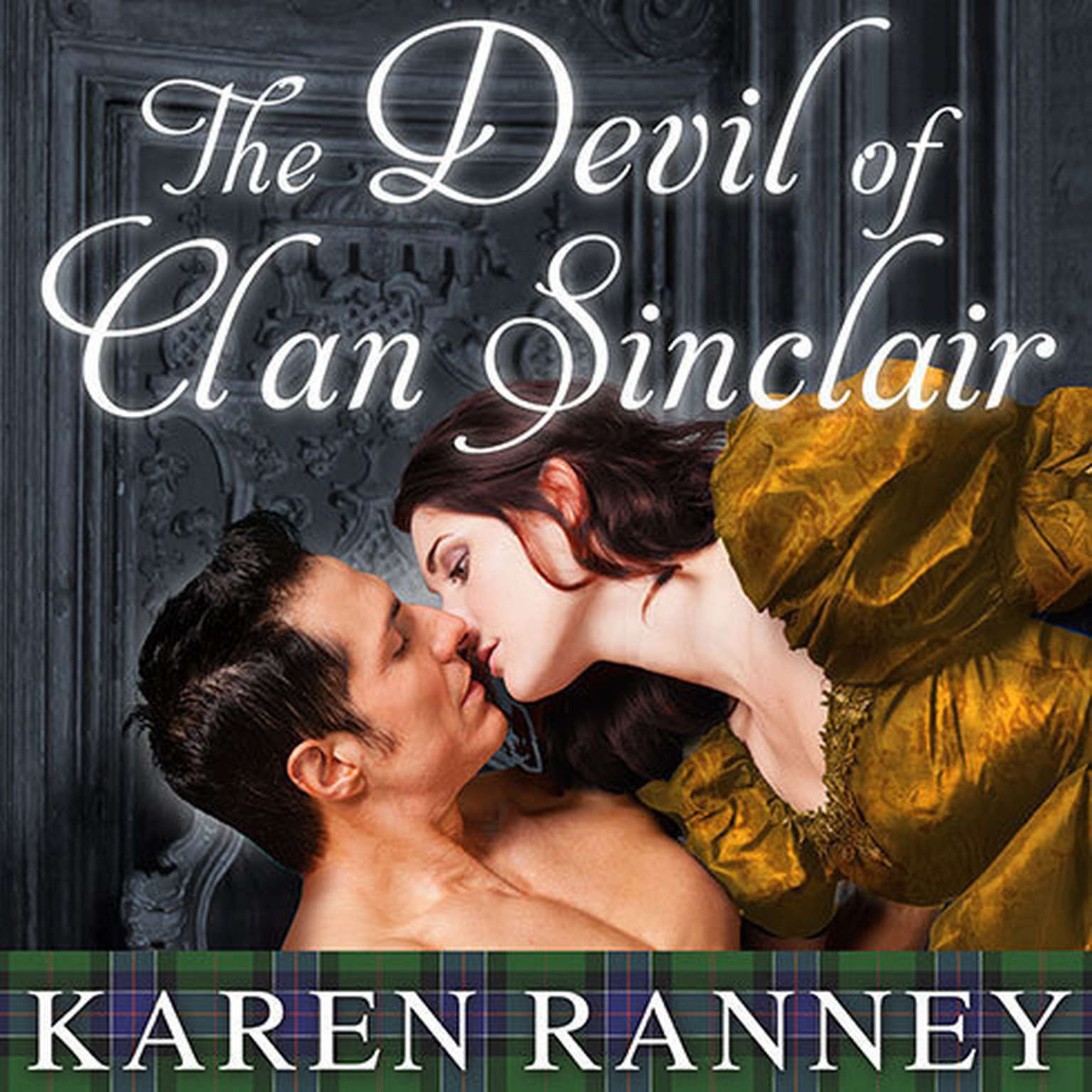 Printable The Devil of Clan Sinclair Audiobook Cover Art