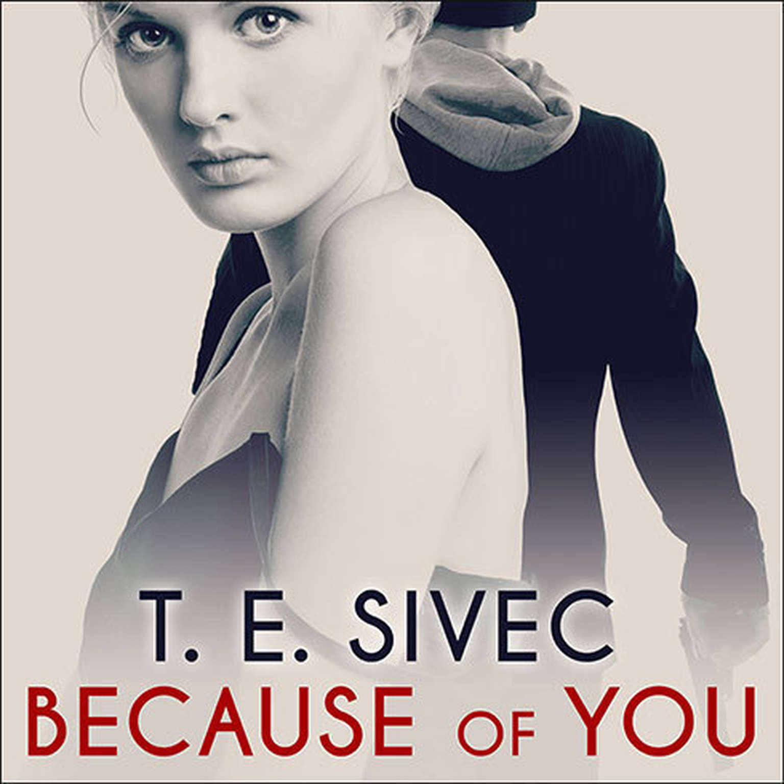 Printable Because of You Audiobook Cover Art