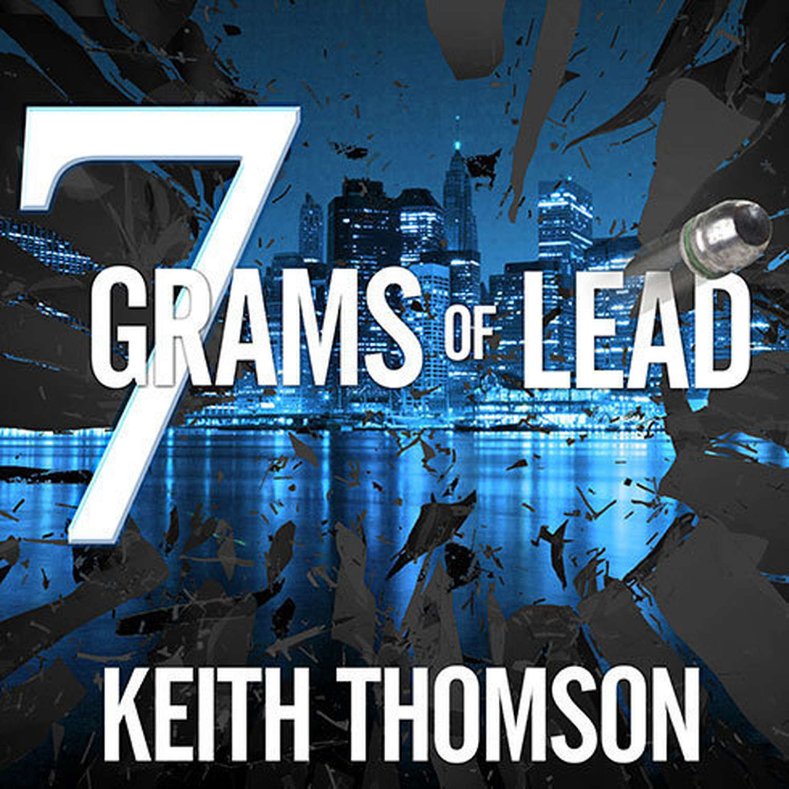 Printable Seven Grams of Lead Audiobook Cover Art