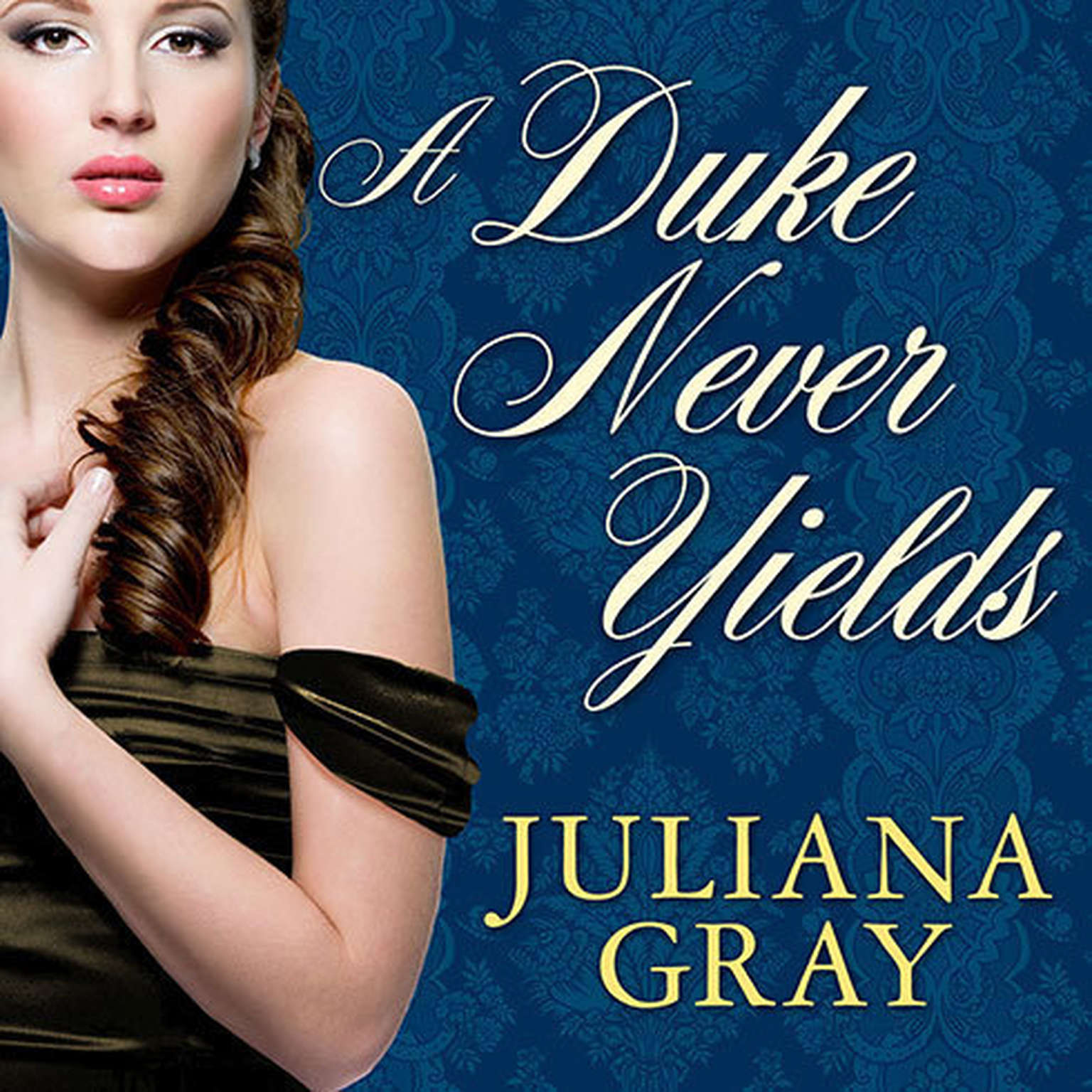 Printable A Duke Never Yields Audiobook Cover Art