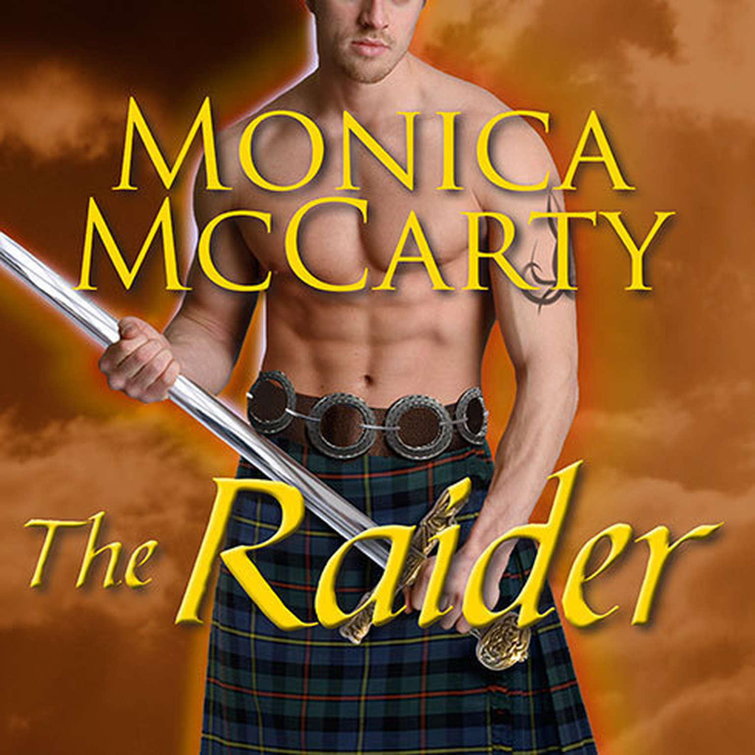 Printable The Raider: A Highland Guard Novel Audiobook Cover Art