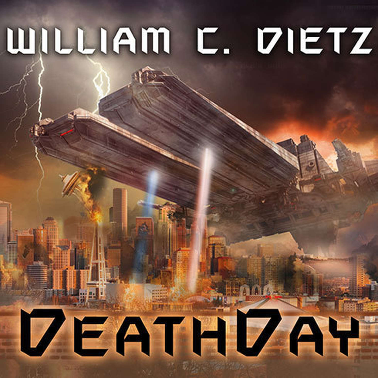 Printable DeathDay Audiobook Cover Art