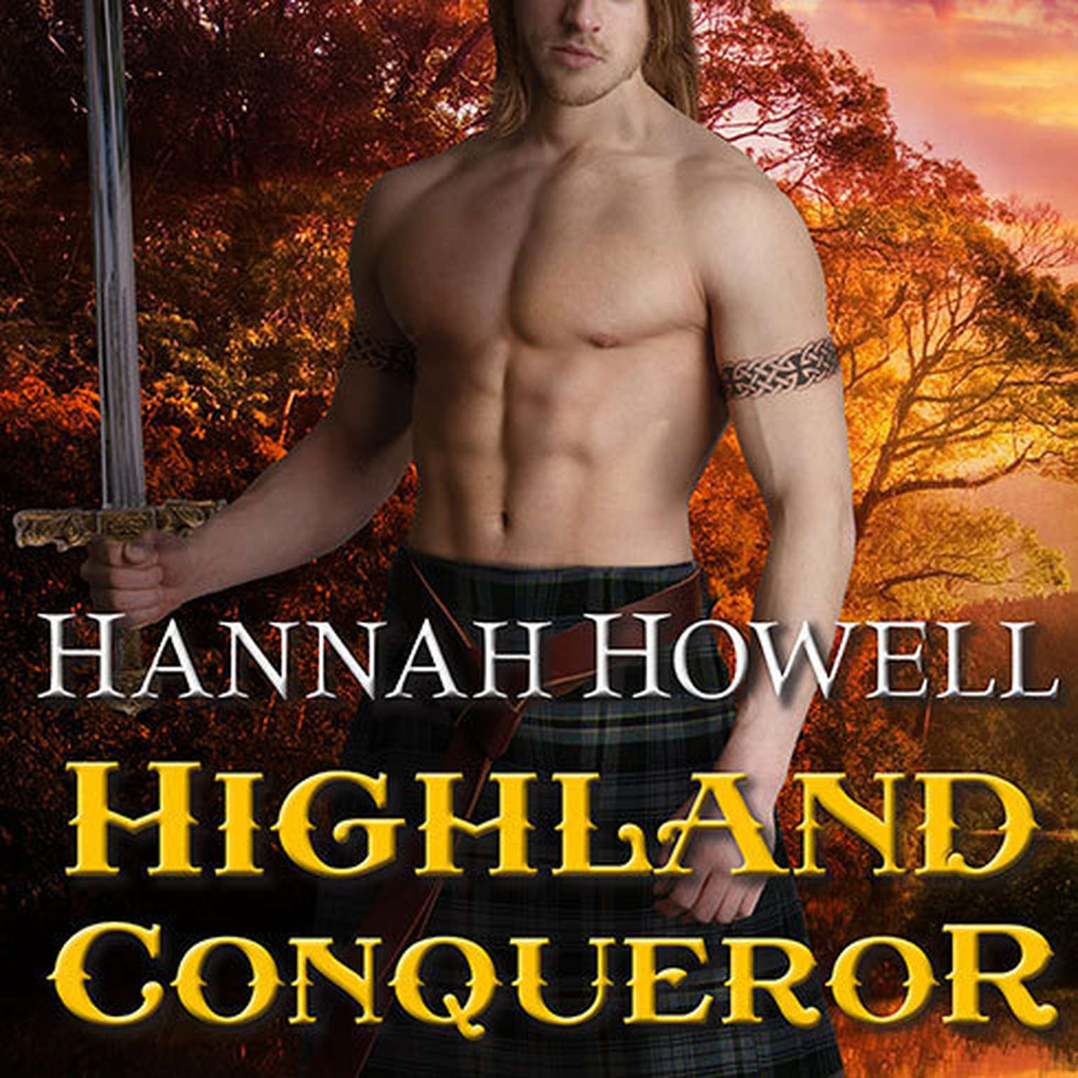 Printable Highland Conqueror Audiobook Cover Art