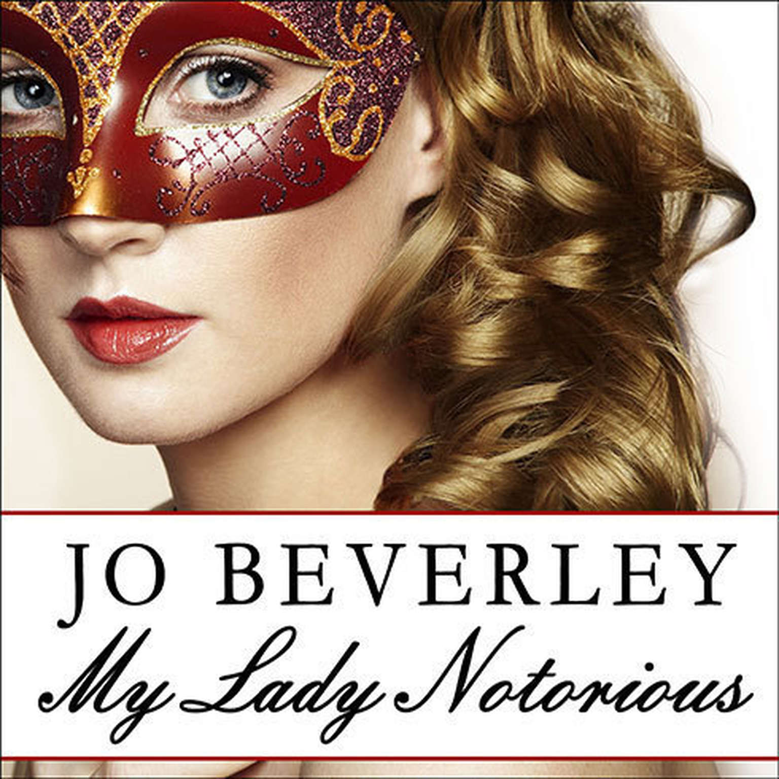 Printable My Lady Notorious Audiobook Cover Art