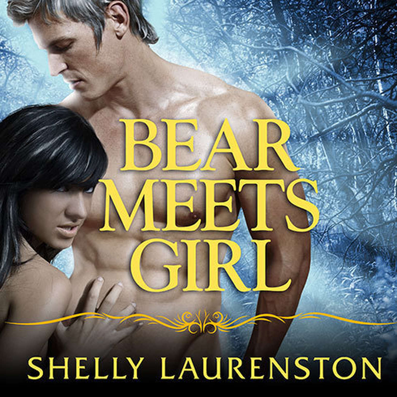 Printable Bear Meets Girl Audiobook Cover Art