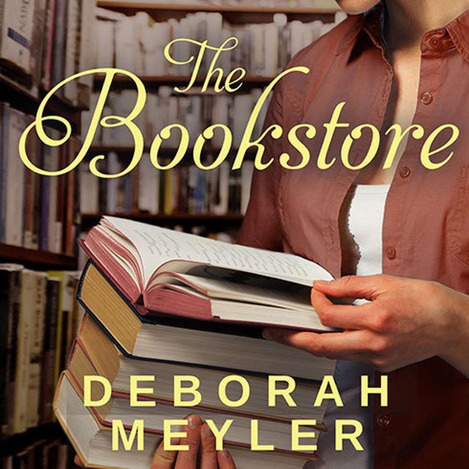Printable The Bookstore Audiobook Cover Art