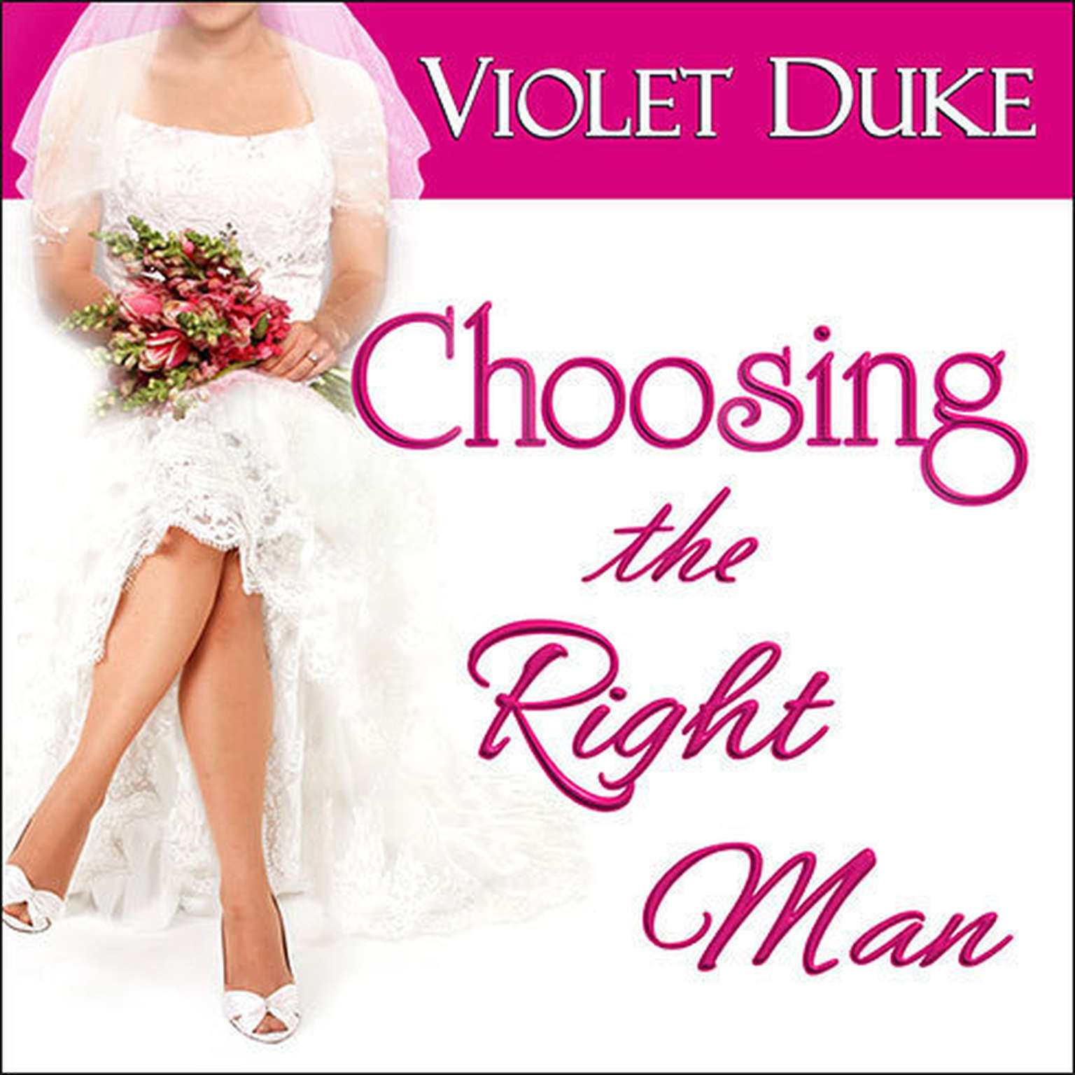 Printable Choosing the Right Man Audiobook Cover Art