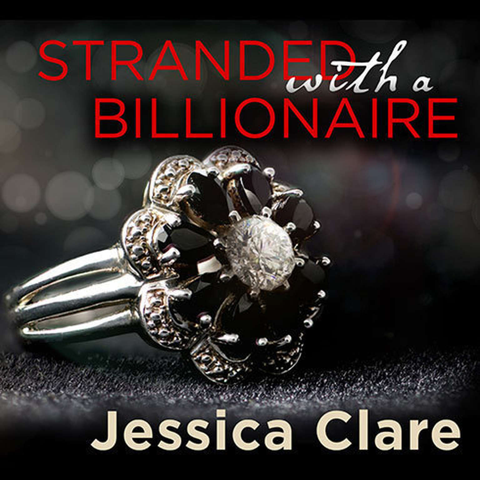 Printable Stranded with a Billionaire Audiobook Cover Art