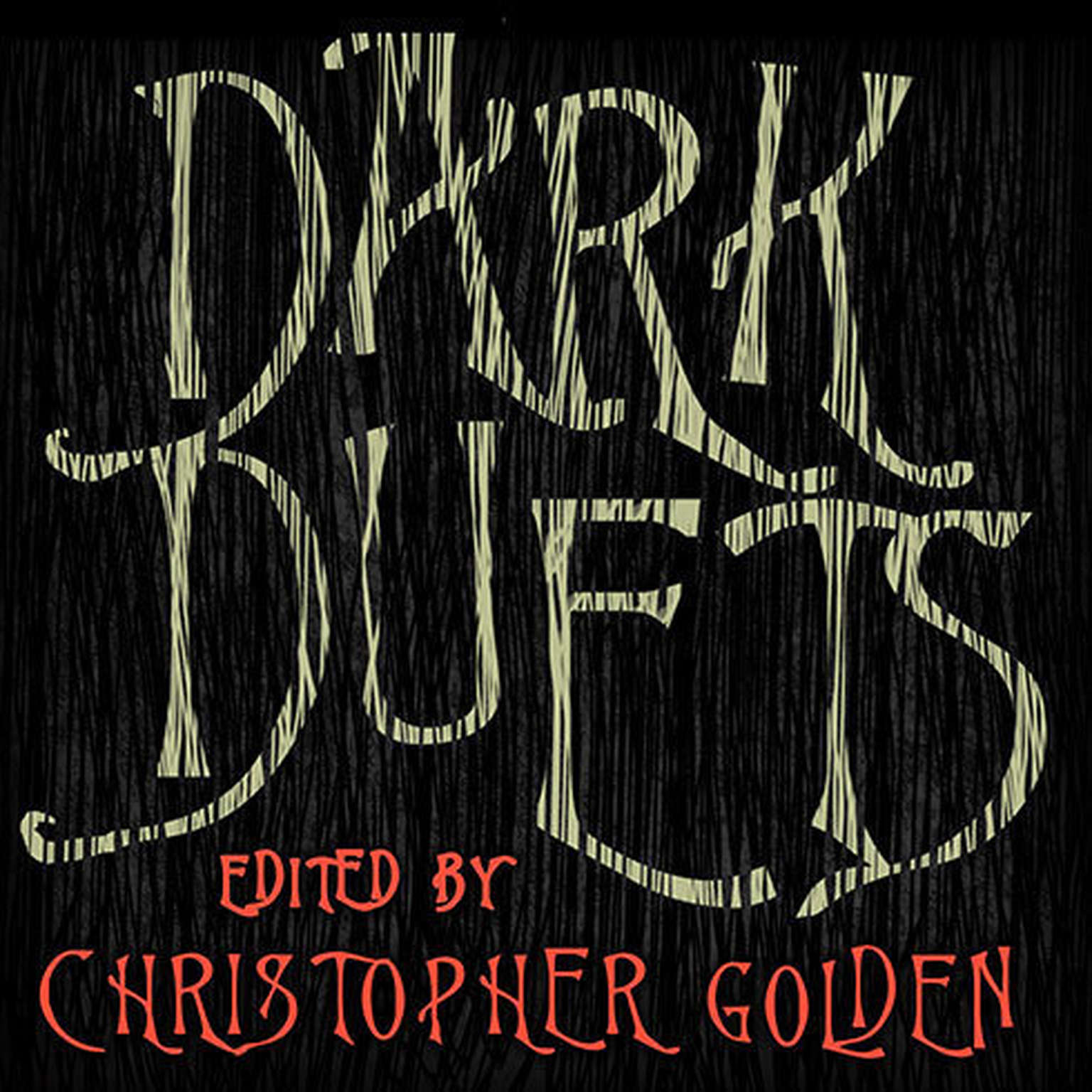 Printable Dark Duets: All-New Tales of Horror and Dark Fantasy Audiobook Cover Art