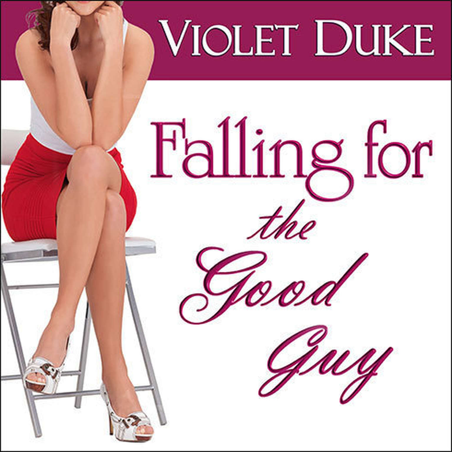 Printable Falling for the Good Guy Audiobook Cover Art