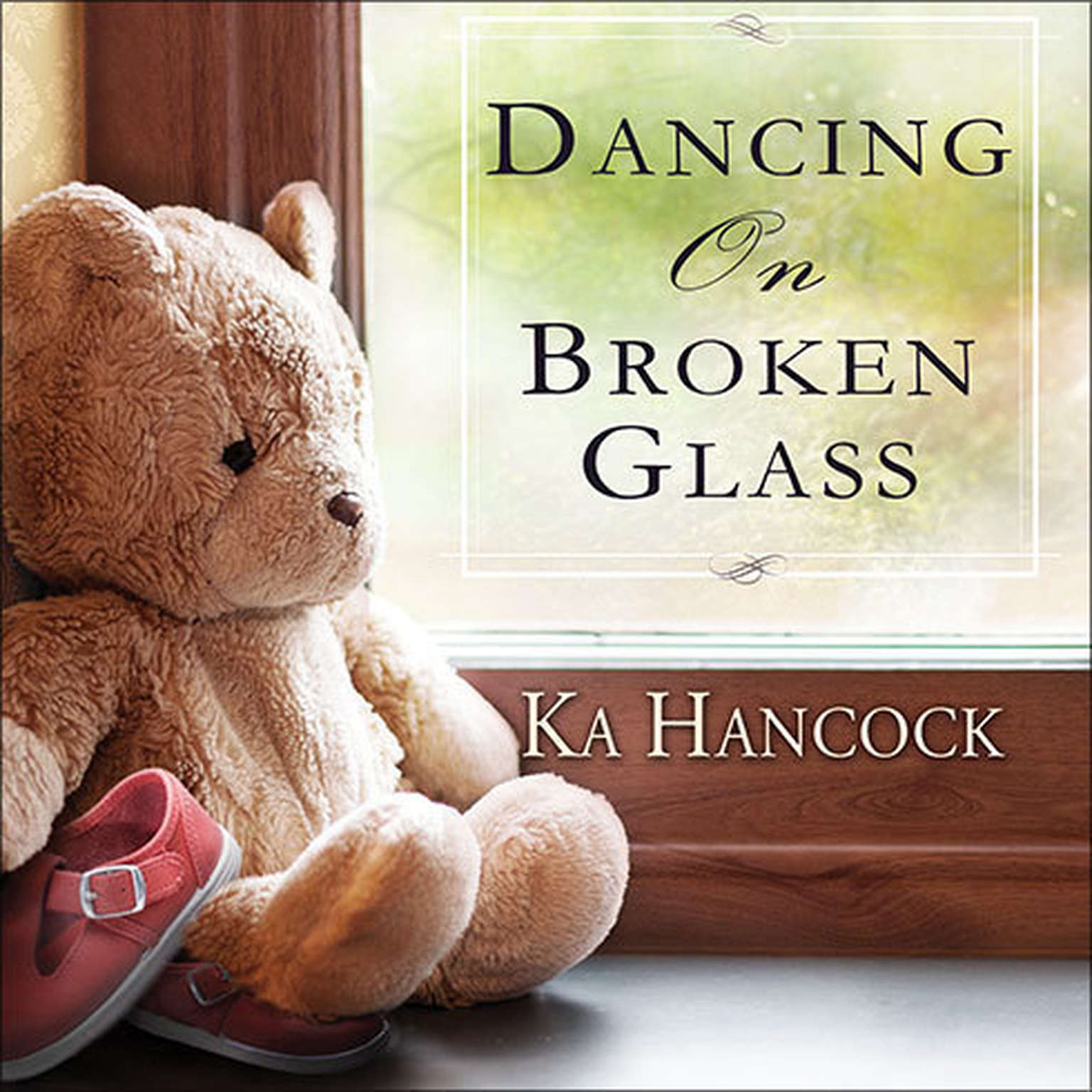 Printable Dancing on Broken Glass Audiobook Cover Art