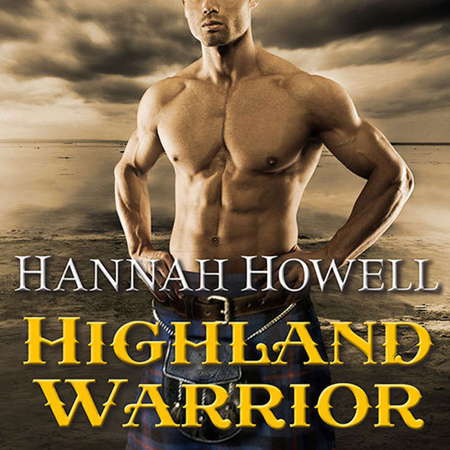 Printable Highland Warrior Audiobook Cover Art