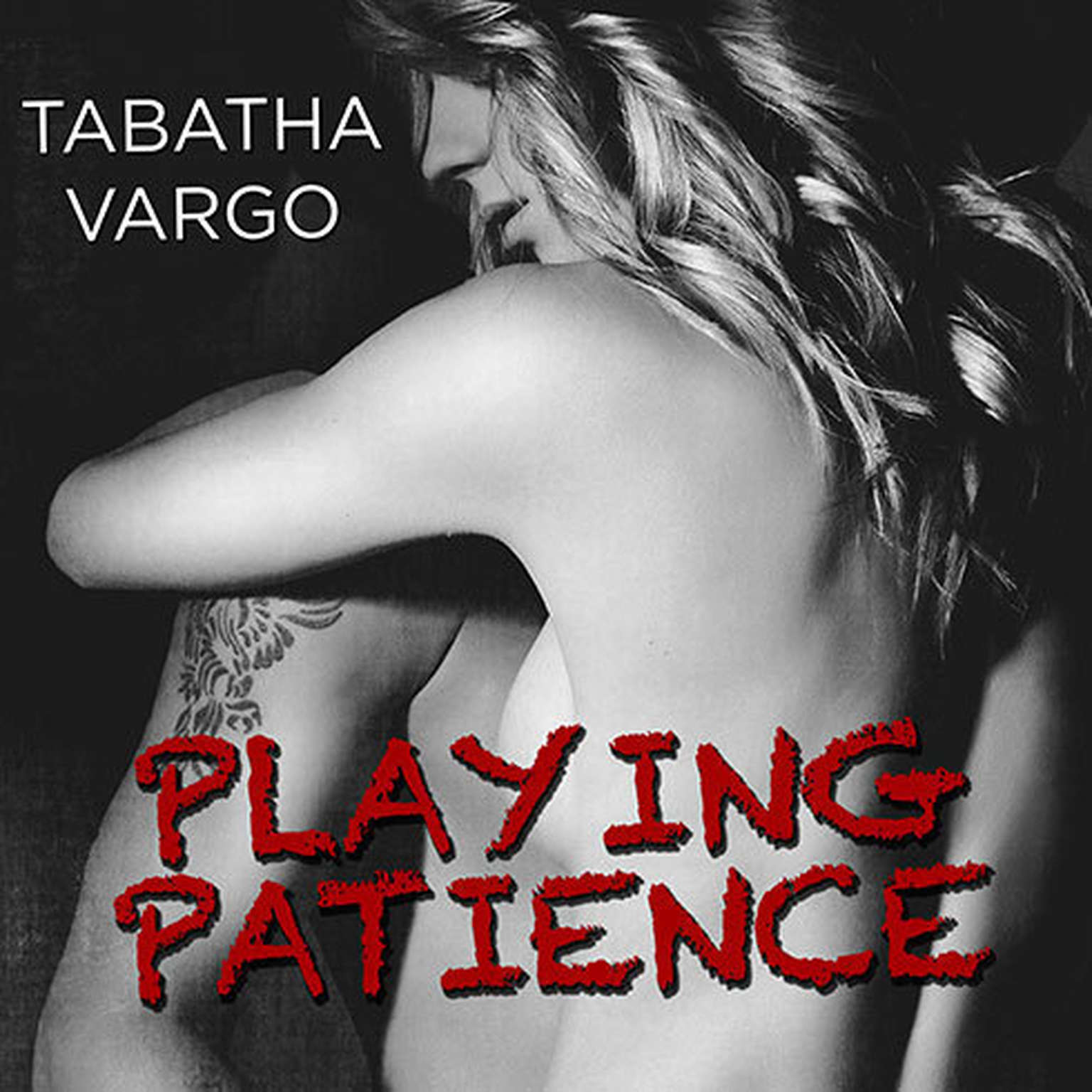 Printable Playing Patience Audiobook Cover Art
