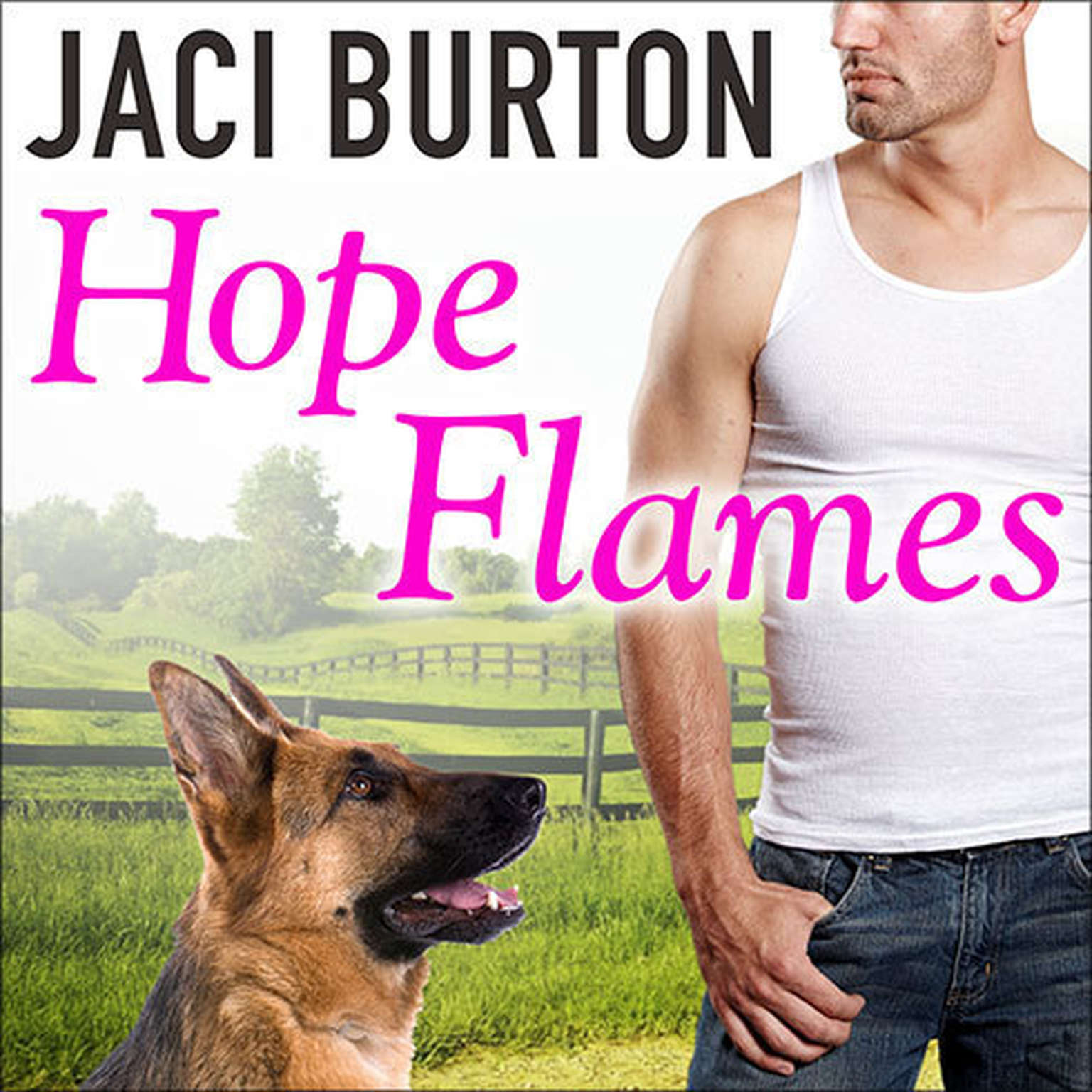 Printable Hope Flames Audiobook Cover Art