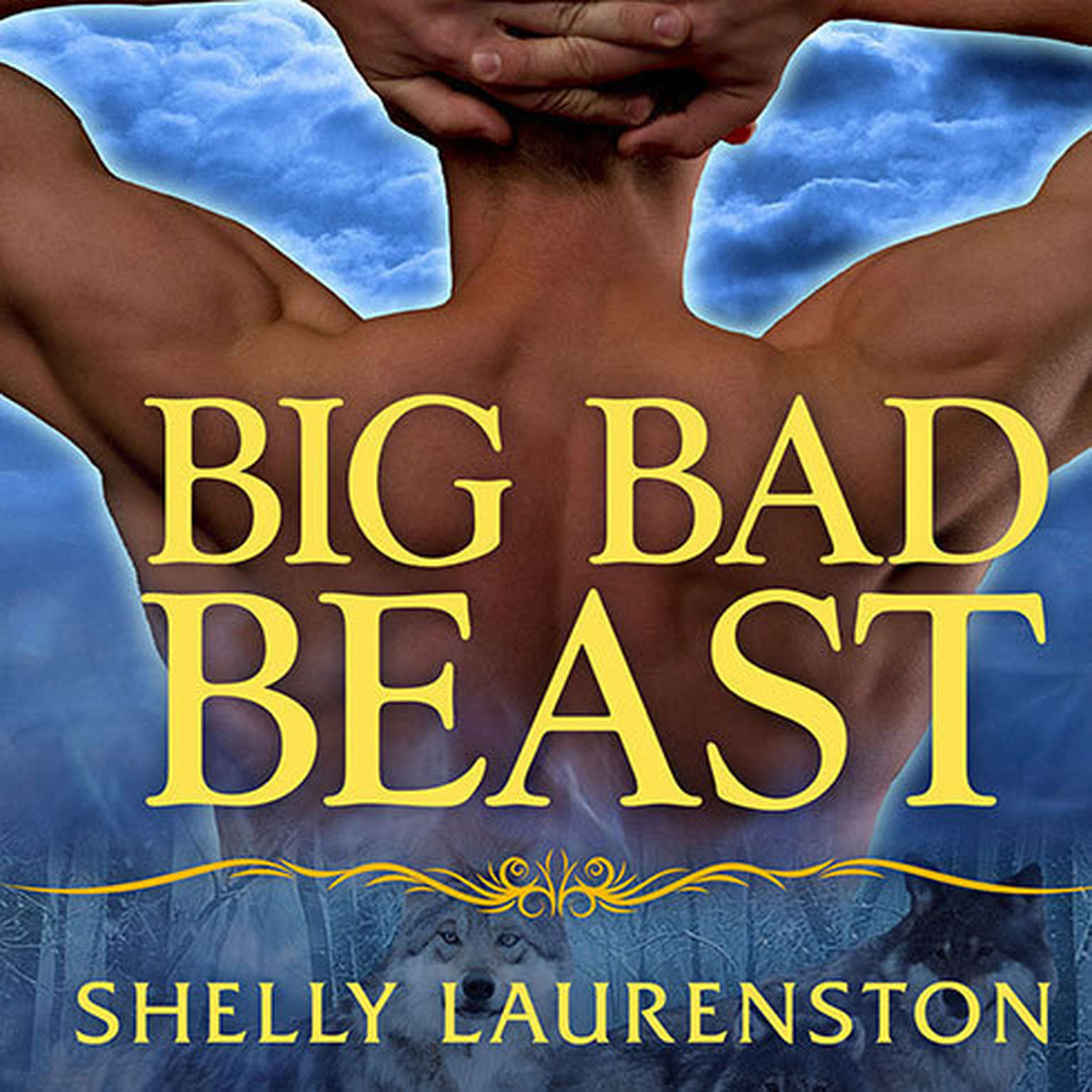 Printable Big Bad Beast Audiobook Cover Art