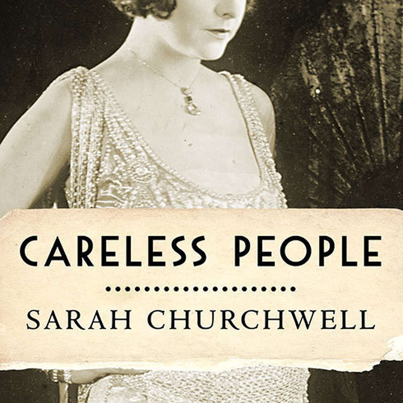 Printable Careless People: Murder, Mayhem, and the Invention of The Great Gatsby Audiobook Cover Art