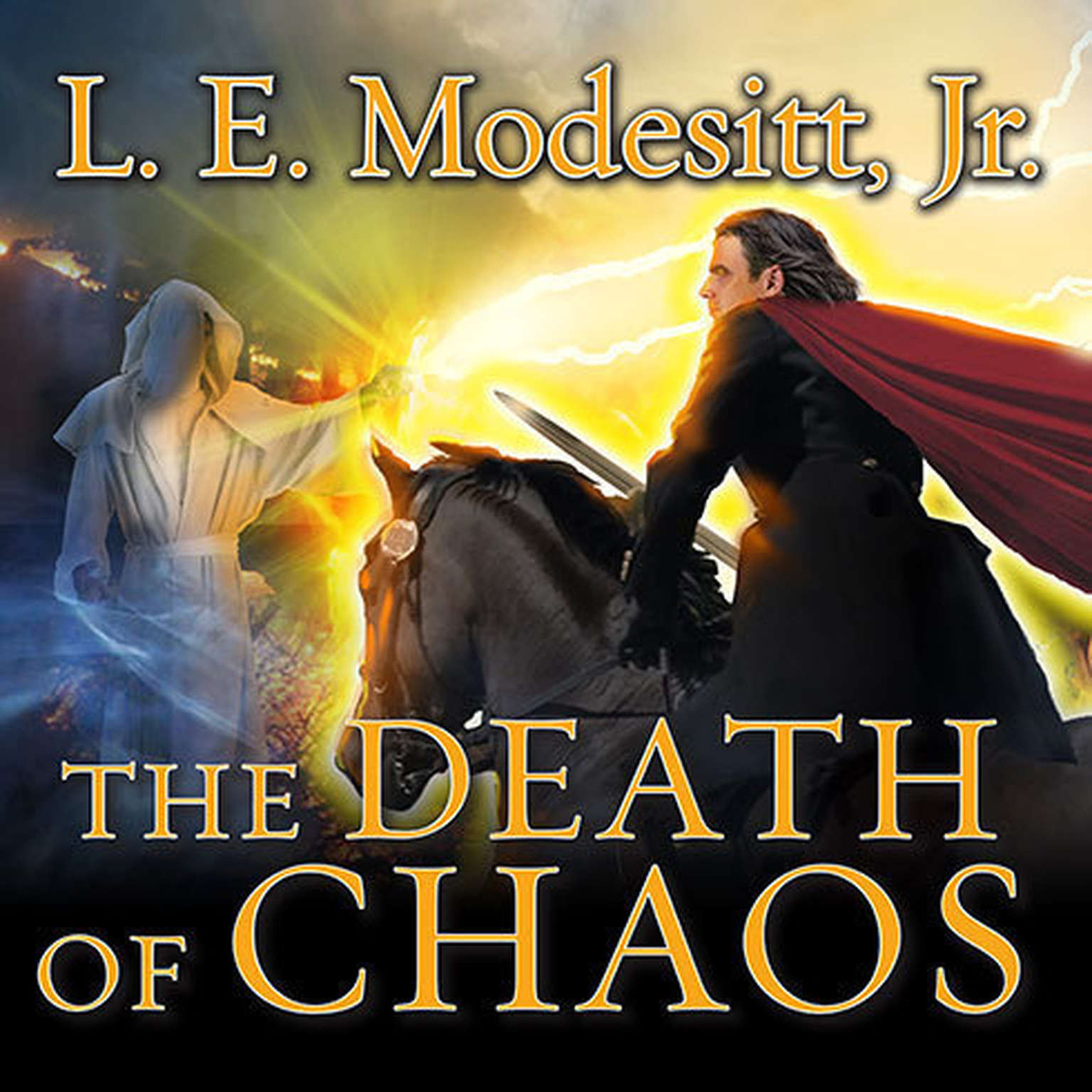 Printable The Death of Chaos Audiobook Cover Art