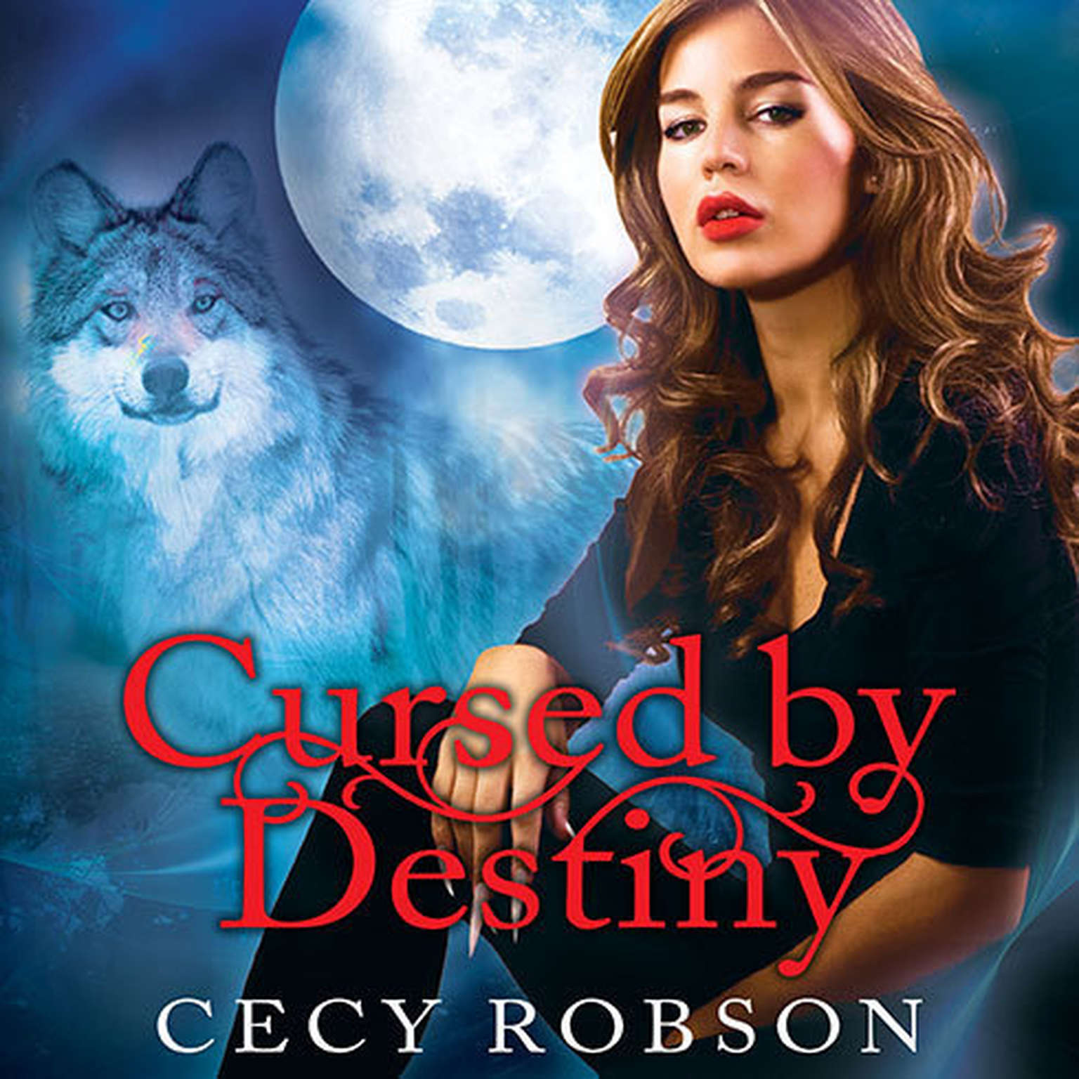 Printable Cursed by Destiny Audiobook Cover Art