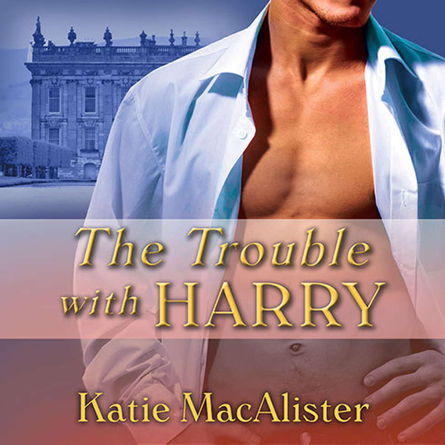Printable The Trouble With Harry Audiobook Cover Art