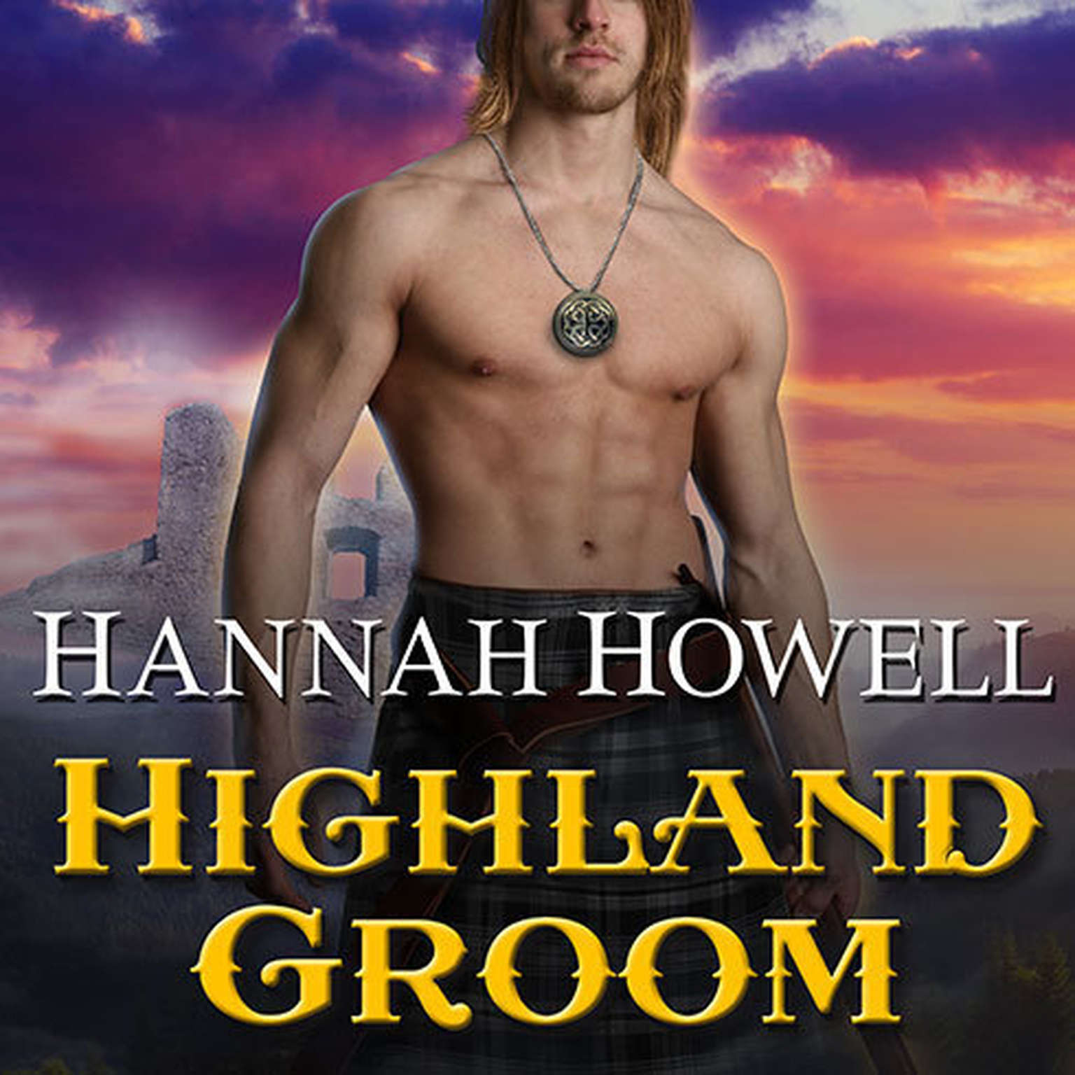 Printable Highland Groom Audiobook Cover Art
