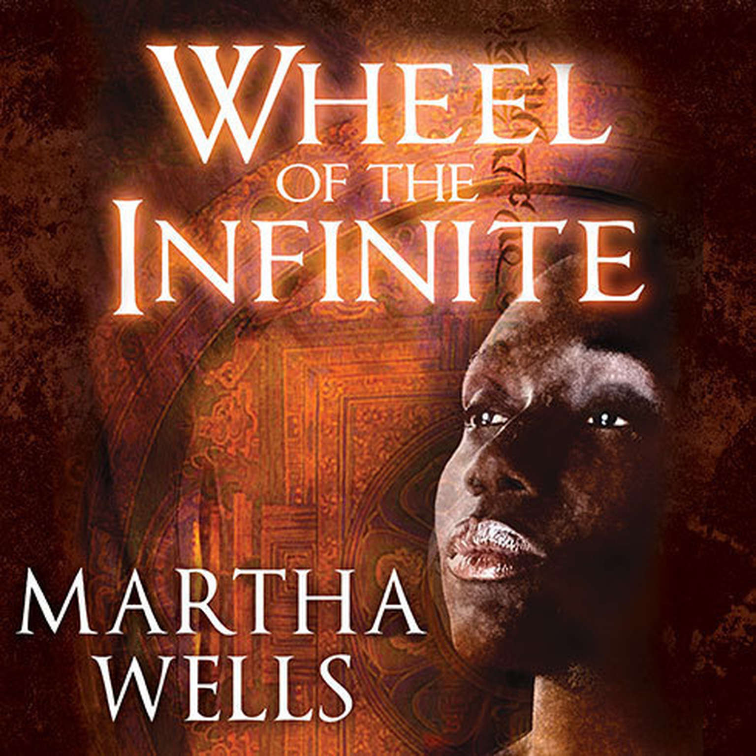 Printable Wheel of the Infinite Audiobook Cover Art
