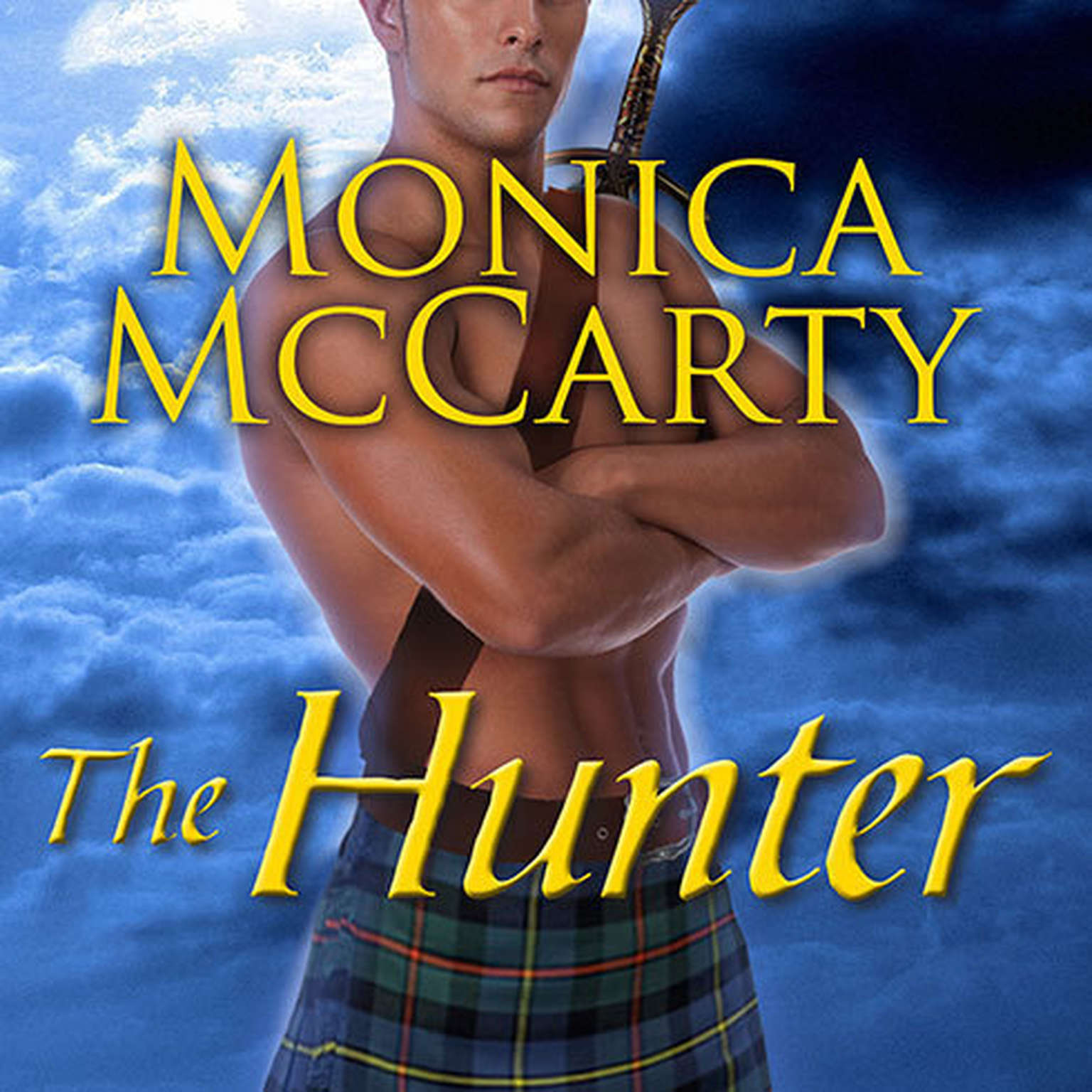 Printable The Hunter: A Highland Guard Novel Audiobook Cover Art