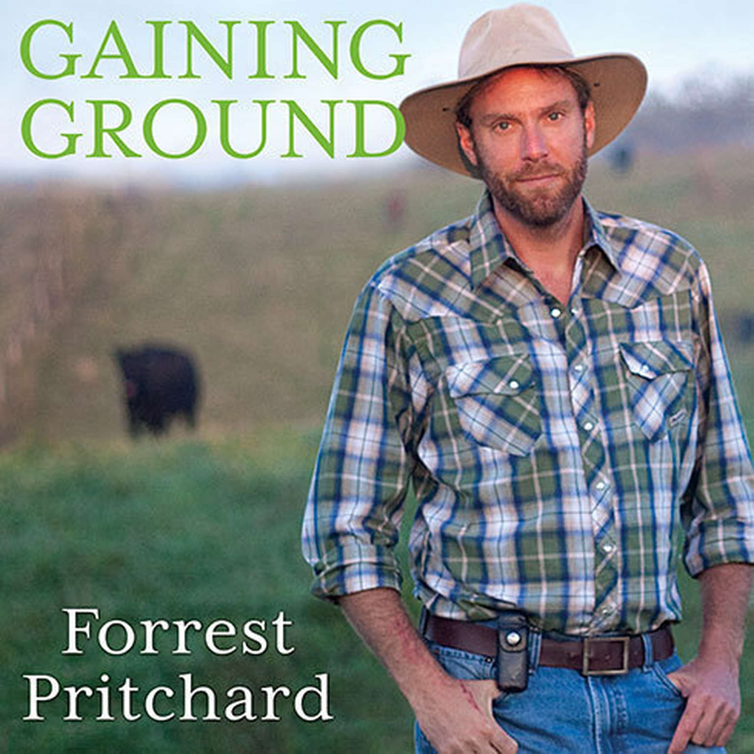 Printable Gaining Ground: A Story of Farmers' Markets, Local Food, and Saving the Family Farm Audiobook Cover Art