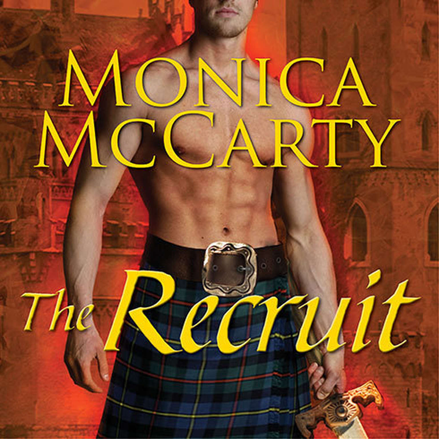 Printable The Recruit: A Highland Guard Novel Audiobook Cover Art