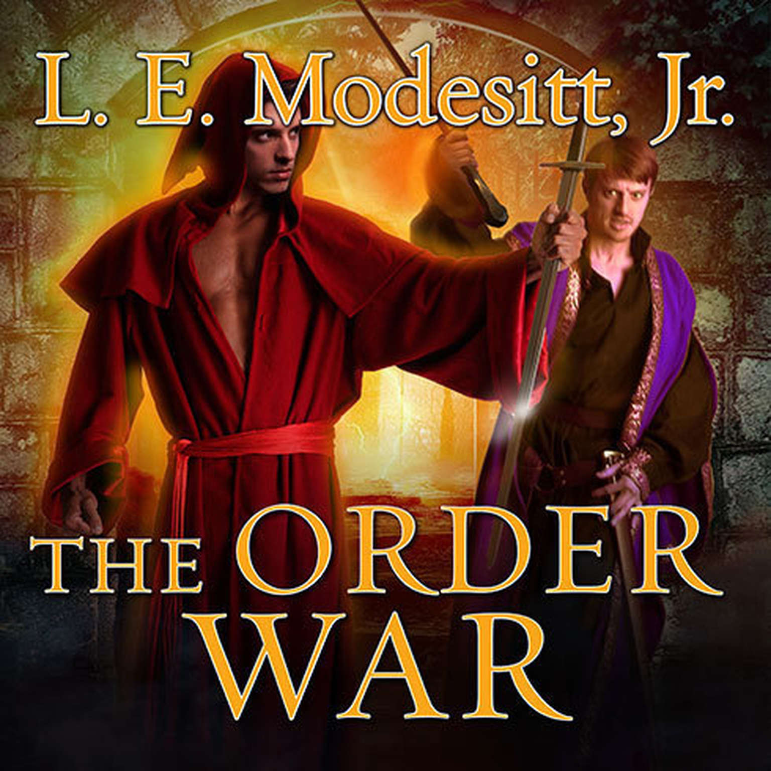 Printable The Order War Audiobook Cover Art