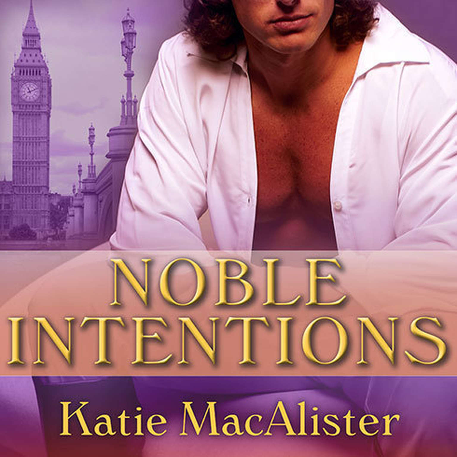 Printable Noble Intentions Audiobook Cover Art
