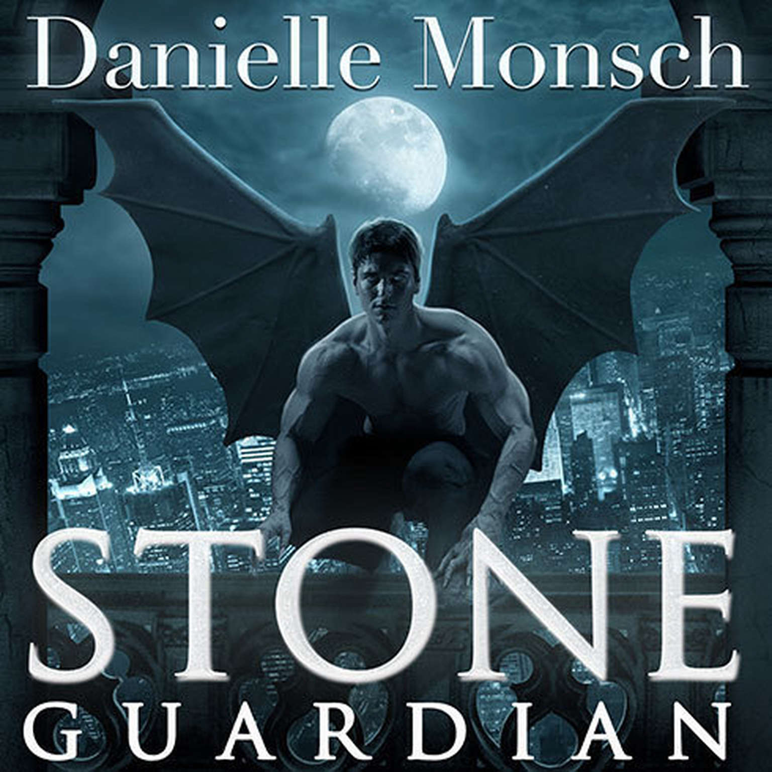 Printable Stone Guardian Audiobook Cover Art