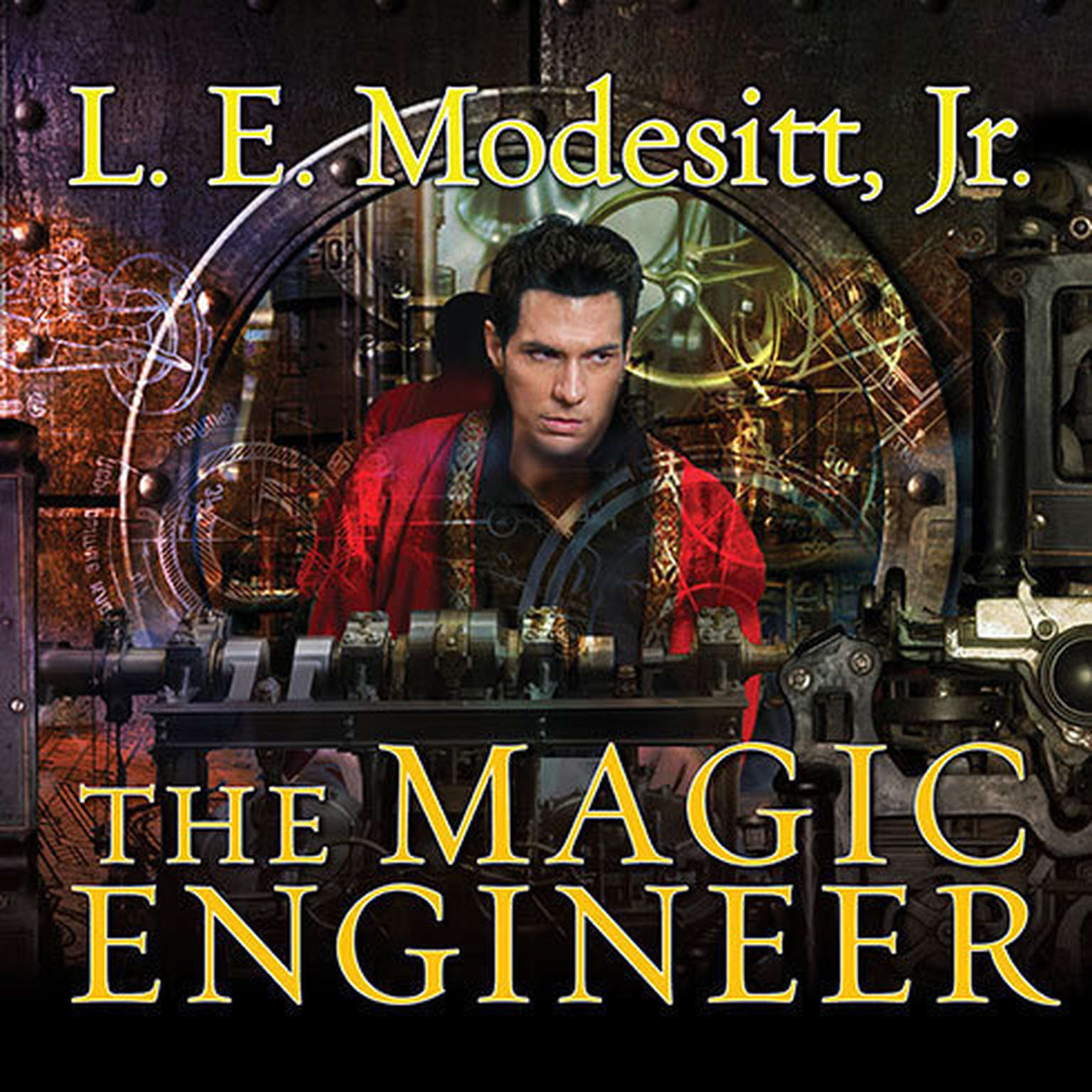Printable The Magic Engineer Audiobook Cover Art