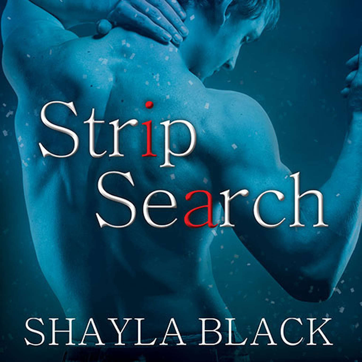 Printable Strip Search Audiobook Cover Art