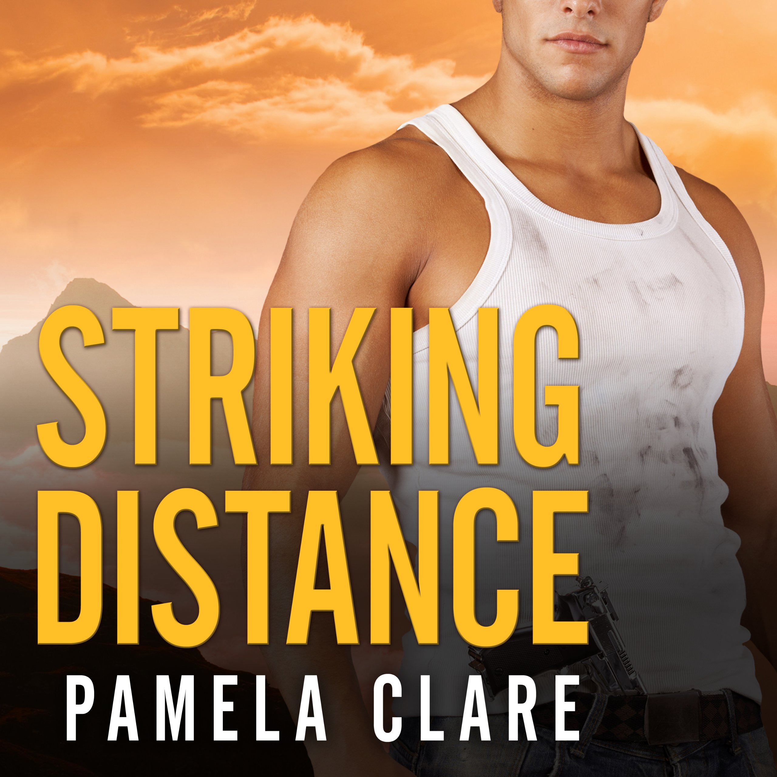 Printable Striking Distance Audiobook Cover Art