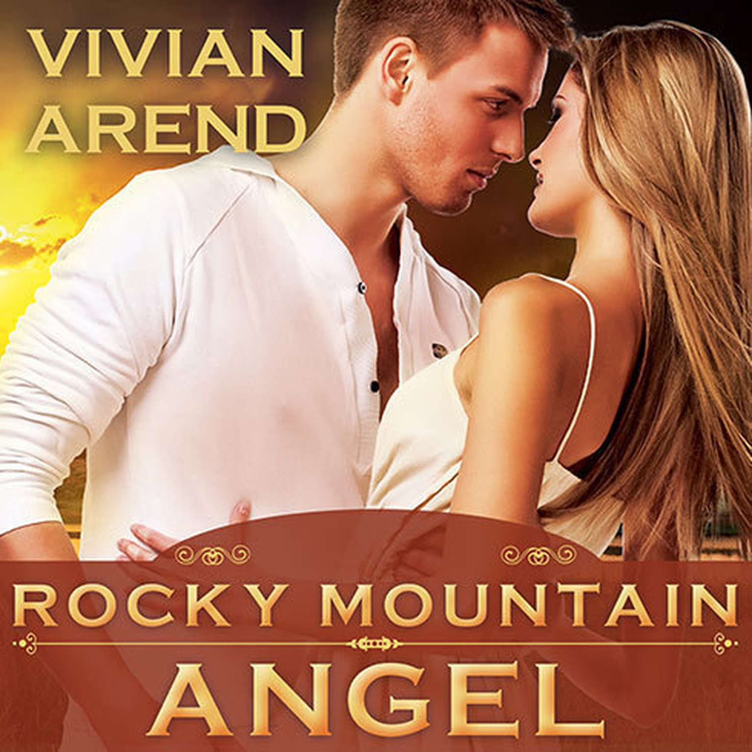 Printable Rocky Mountain Angel Audiobook Cover Art