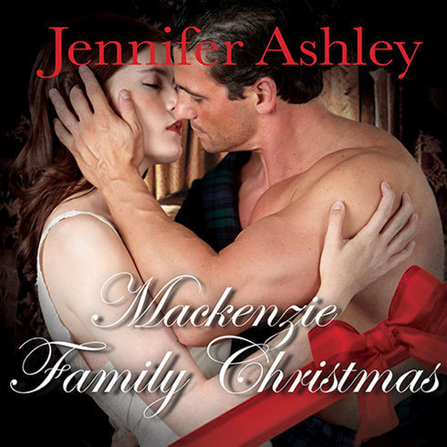 Printable A Mackenzie Family Christmas: The Perfect Gift Audiobook Cover Art