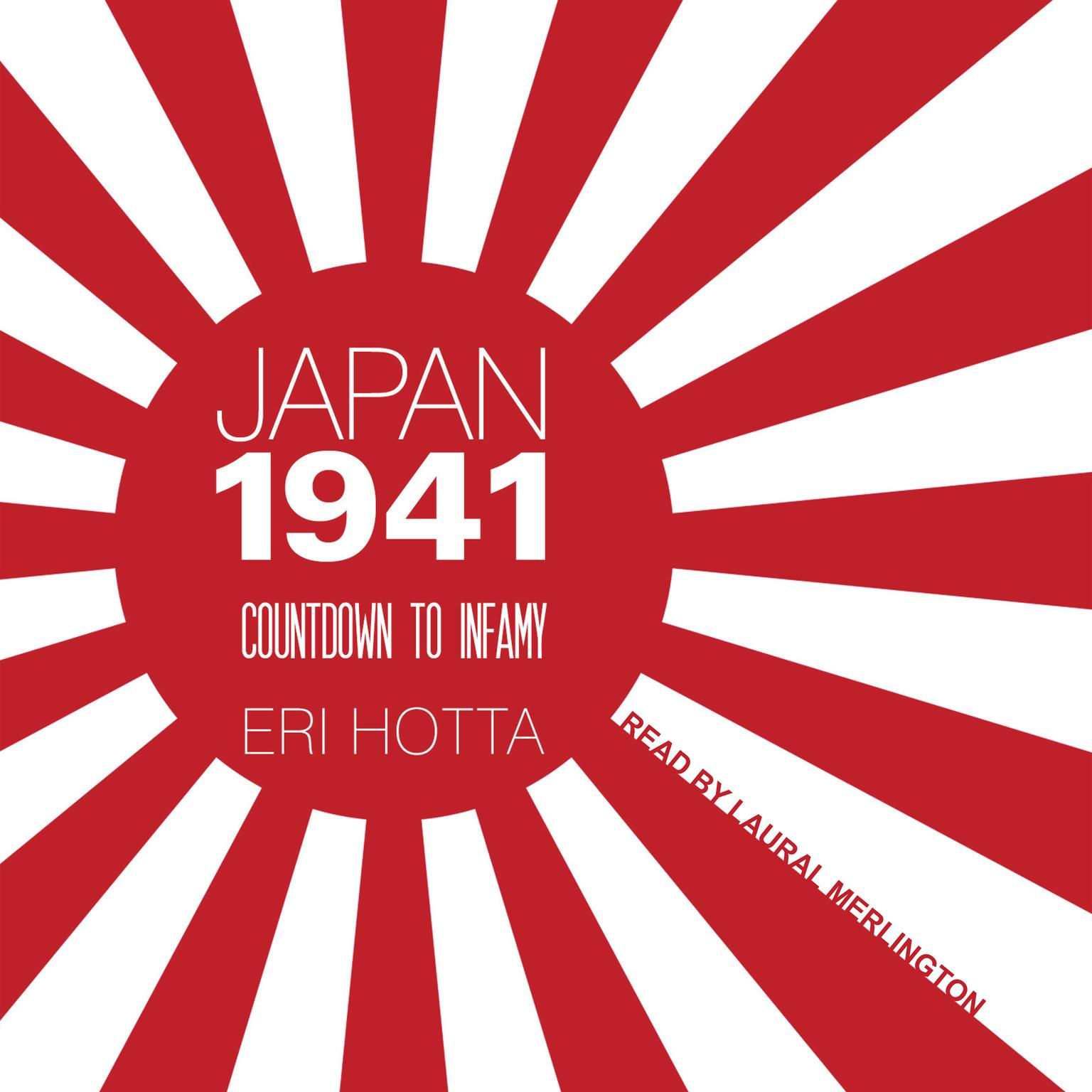 Printable Japan 1941: Countdown to Infamy Audiobook Cover Art