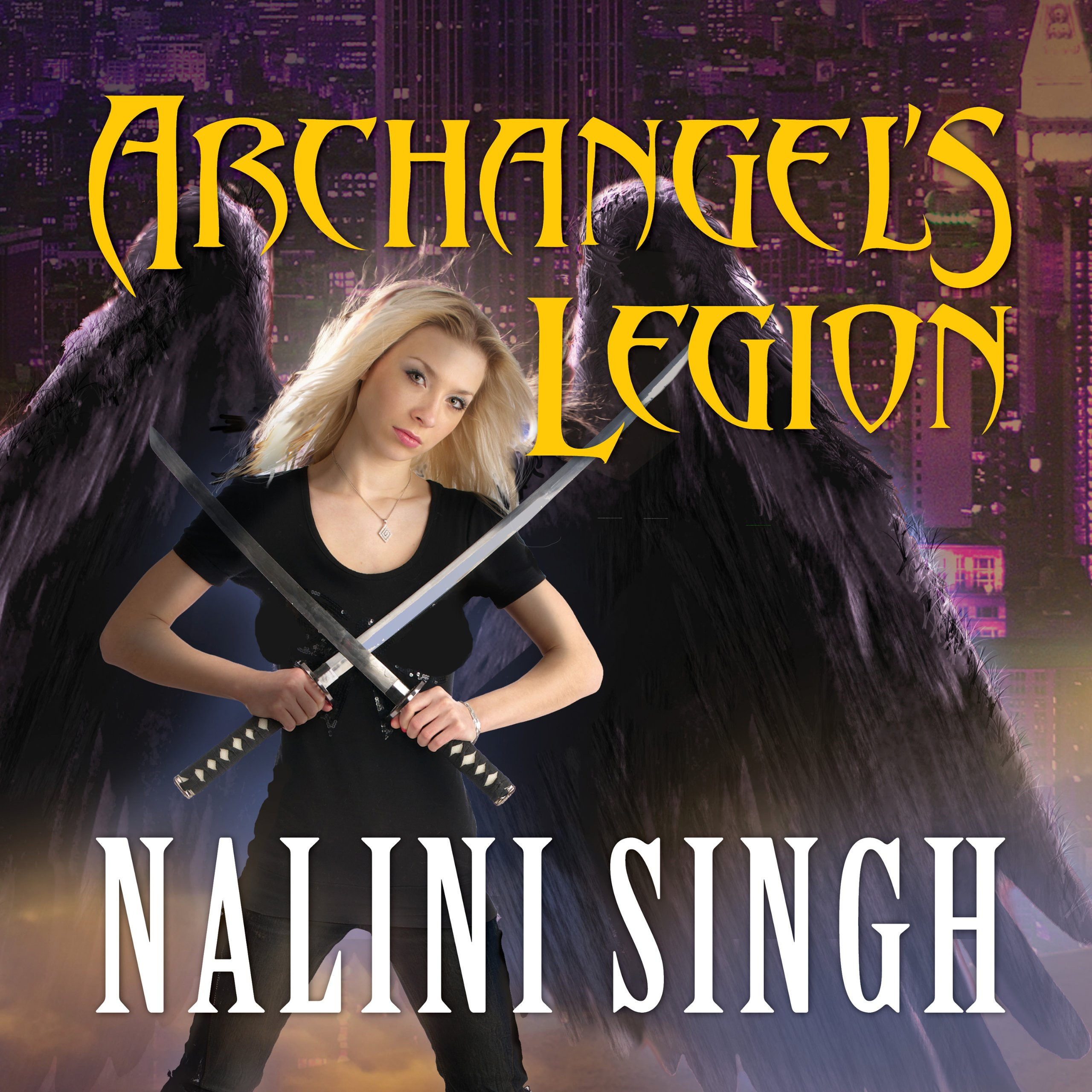 Printable Archangel's Legion Audiobook Cover Art