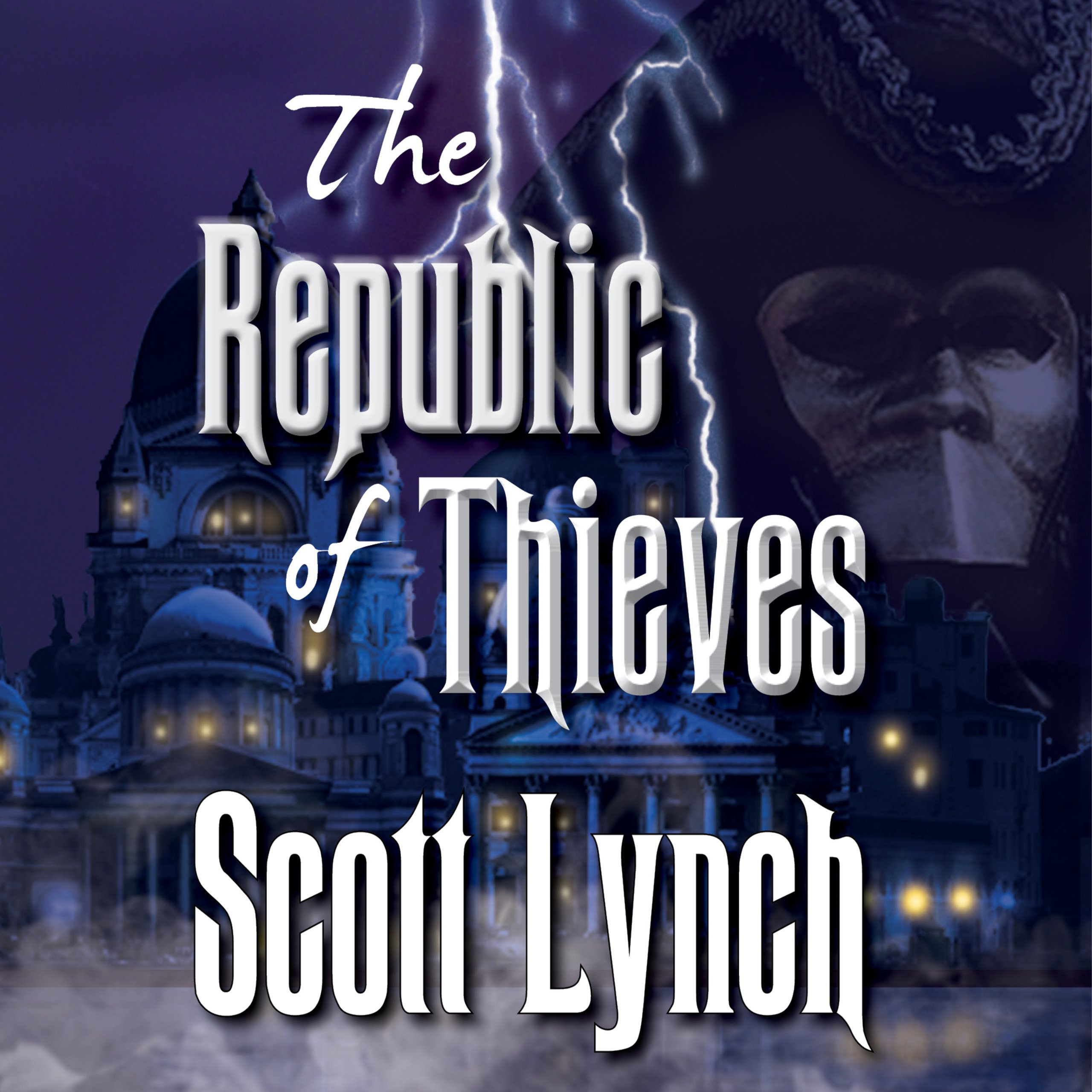 Printable The Republic of Thieves Audiobook Cover Art