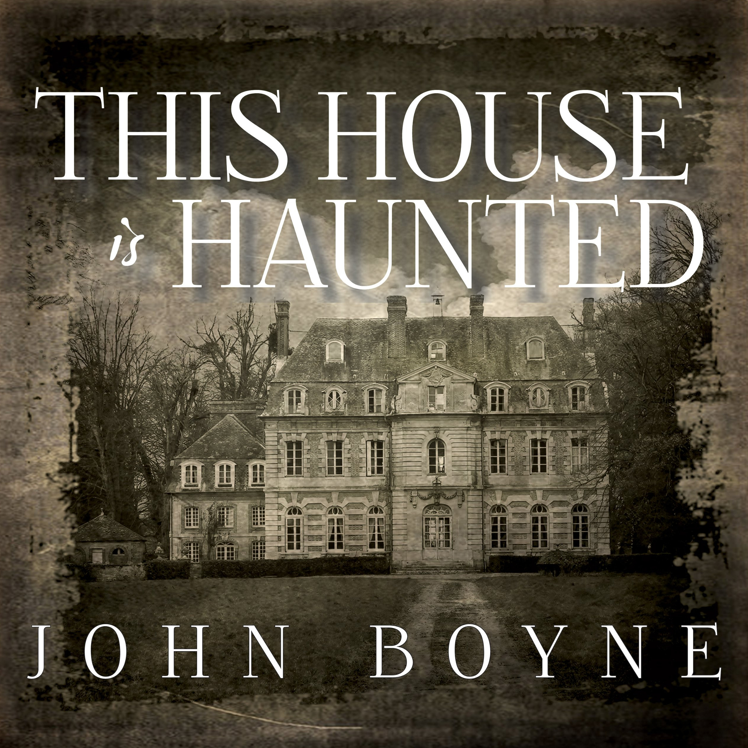 Printable This House Is Haunted Audiobook Cover Art