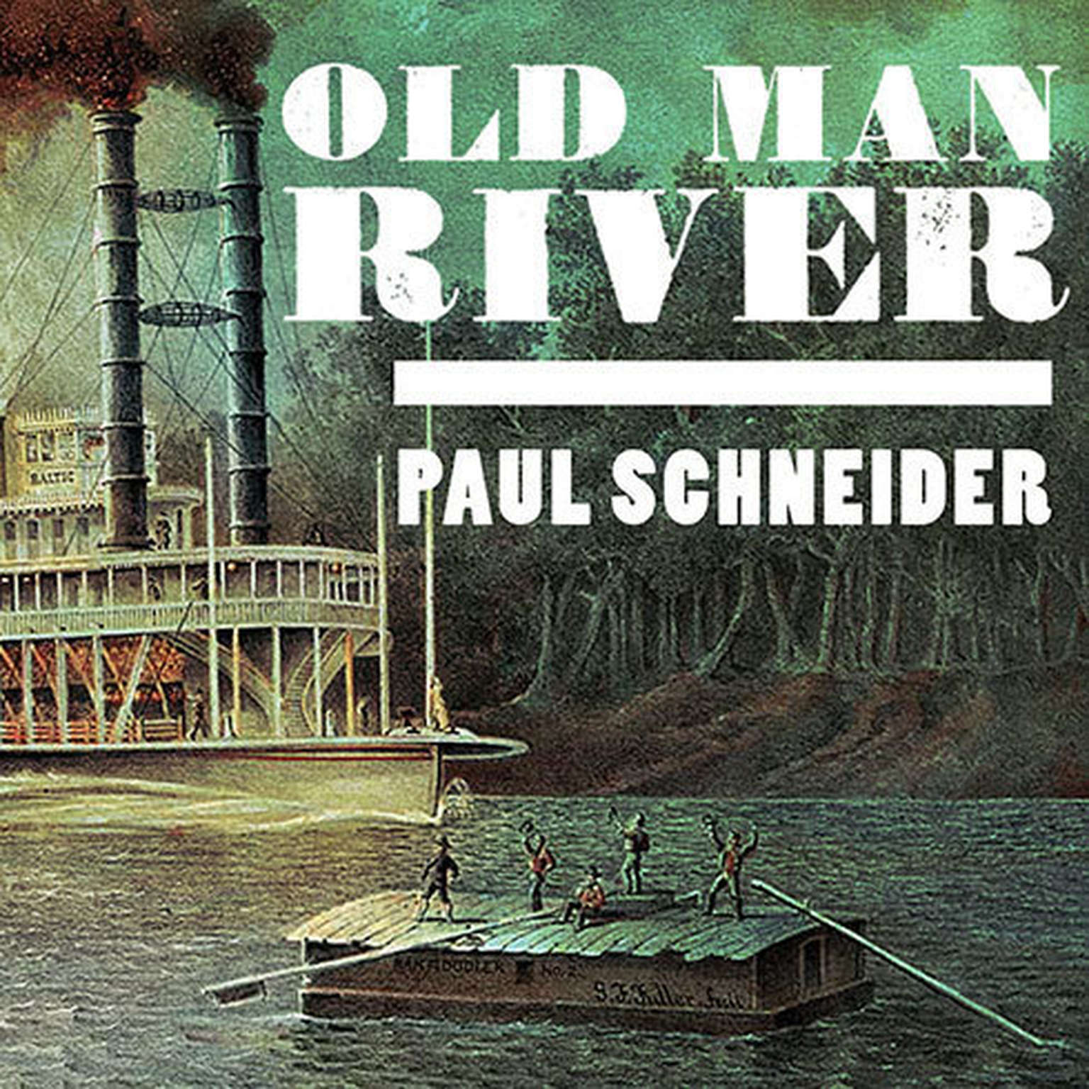 Printable Old Man River: The Mississippi River in North American History Audiobook Cover Art