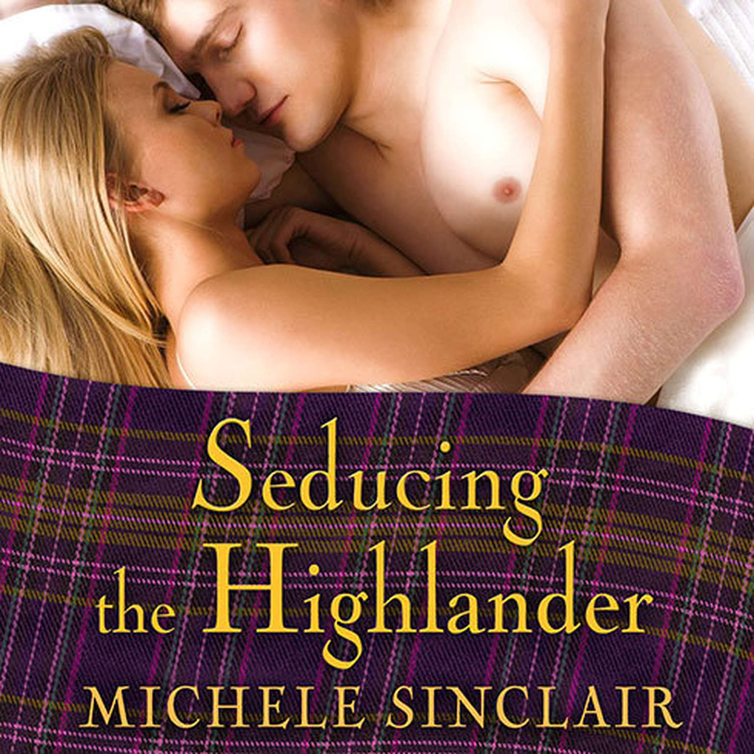 Printable Seducing the Highlander: The McTiernays Audiobook Cover Art