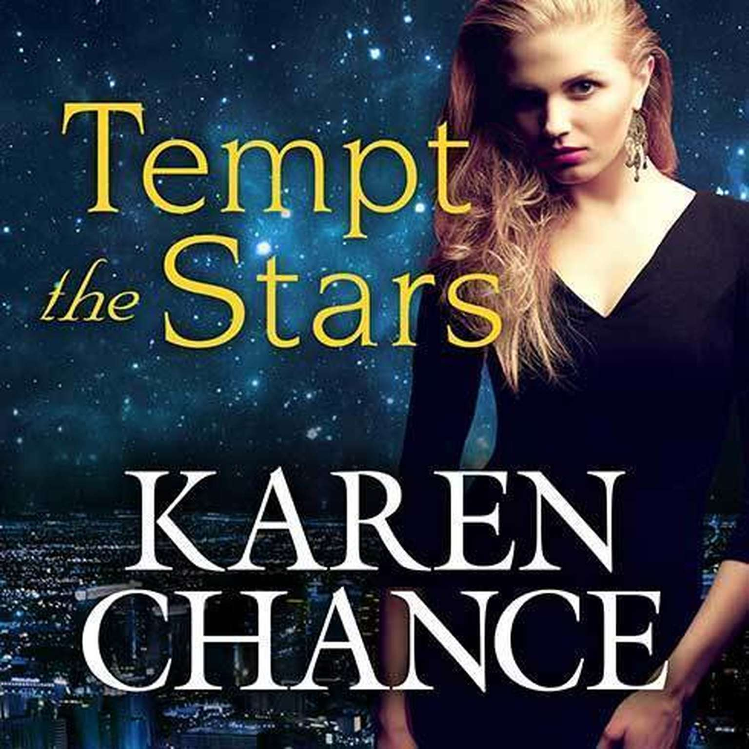 Printable Tempt the Stars Audiobook Cover Art