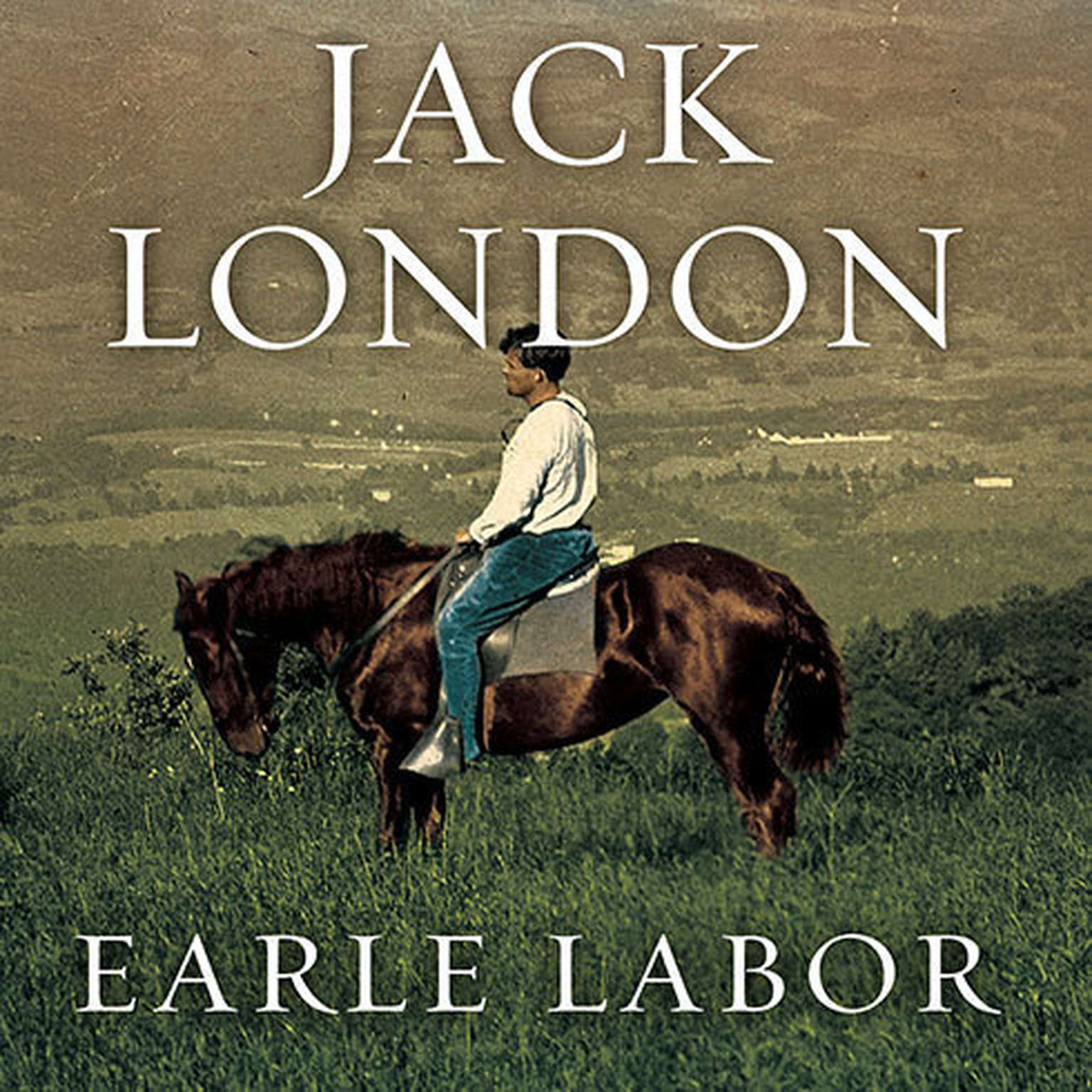 Printable Jack London: An American Life Audiobook Cover Art