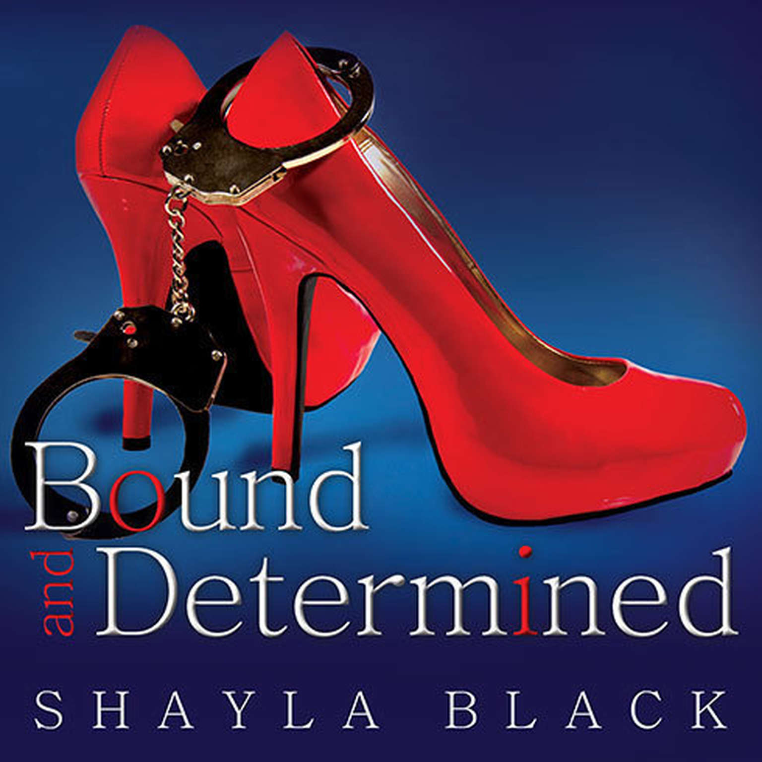 Printable Bound and Determined Audiobook Cover Art